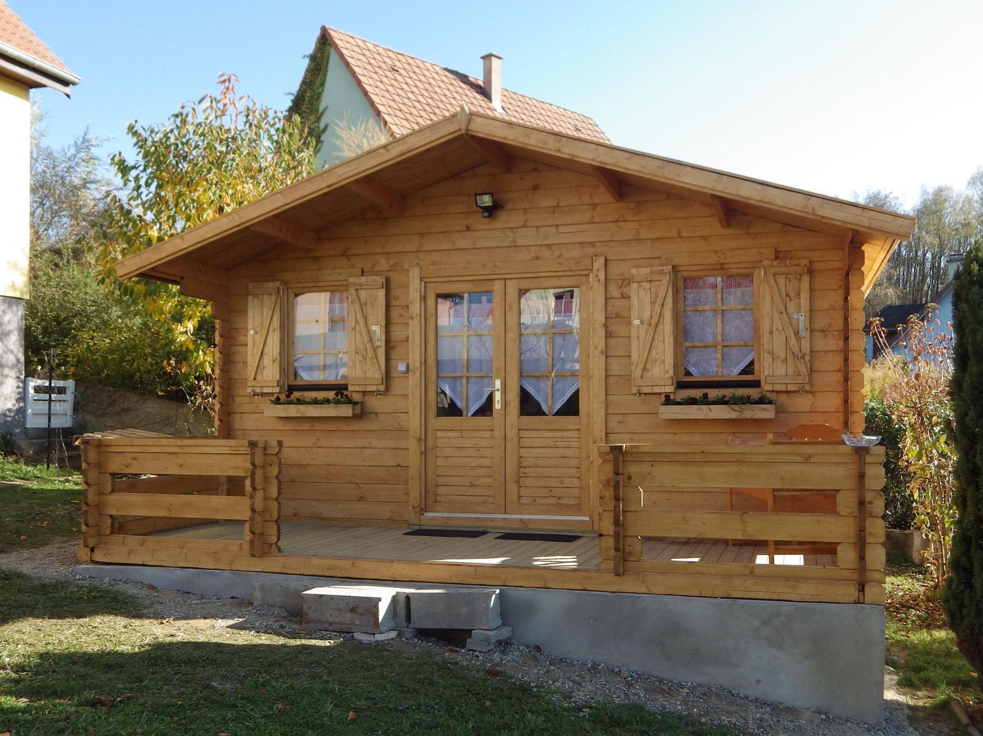 Fabricant Constructeur De Kits Chalets En Bois Habitables - Stmb avec Abri De Jardin 30M2
