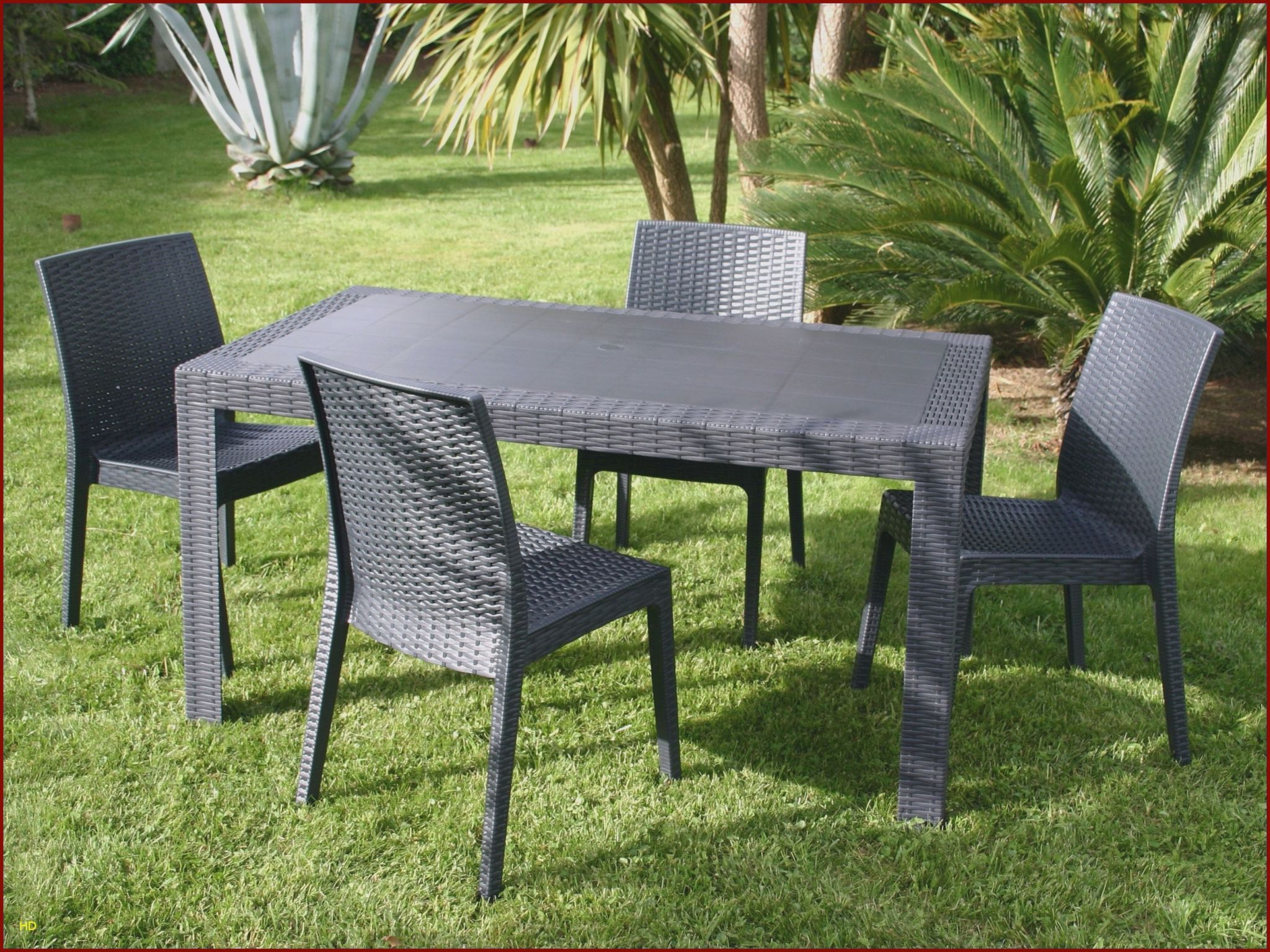 Fauteuil De Jardin En Plastique | Outdoor Furniture Sets serapportantà Table De Jardin Auchan