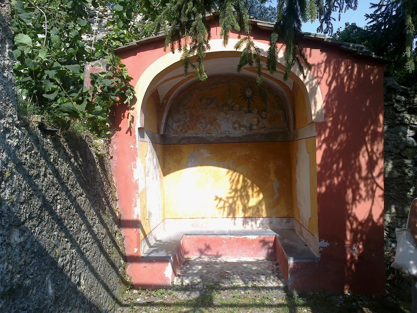 File:la Roya Saorge Monastere Franciscain Jardin Abri ... tout Abri De Jardin Original