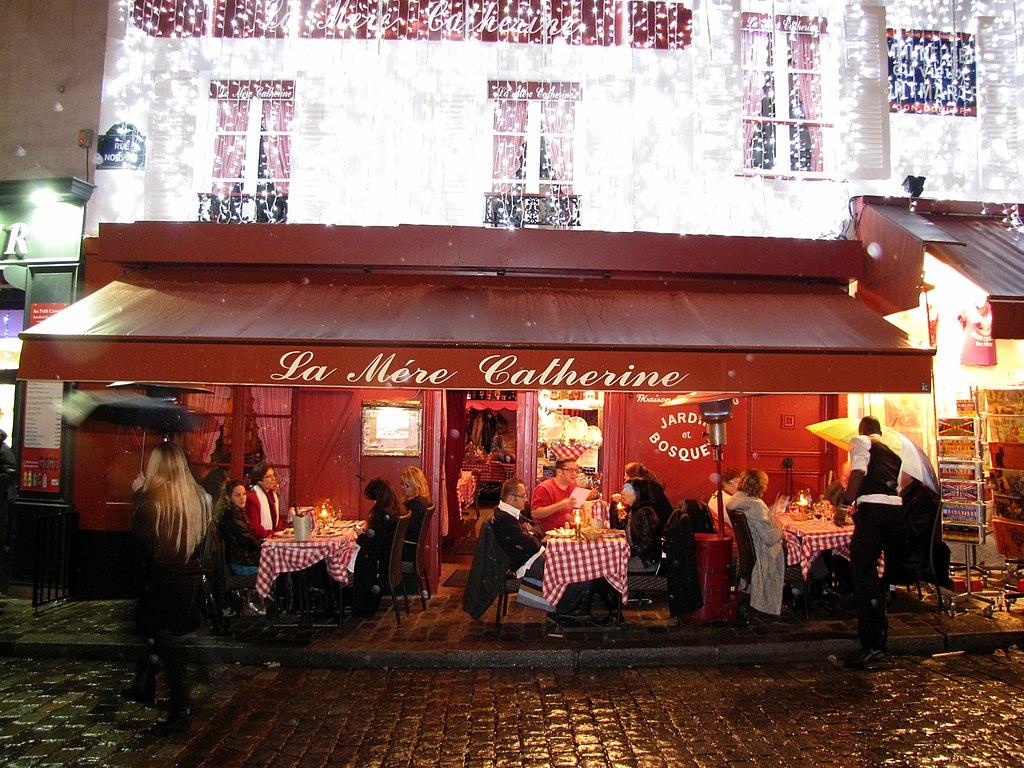 File:paris 75018 Place Du Tertre 20120101 La Mère Catherine ... tout La Maison De Catherine