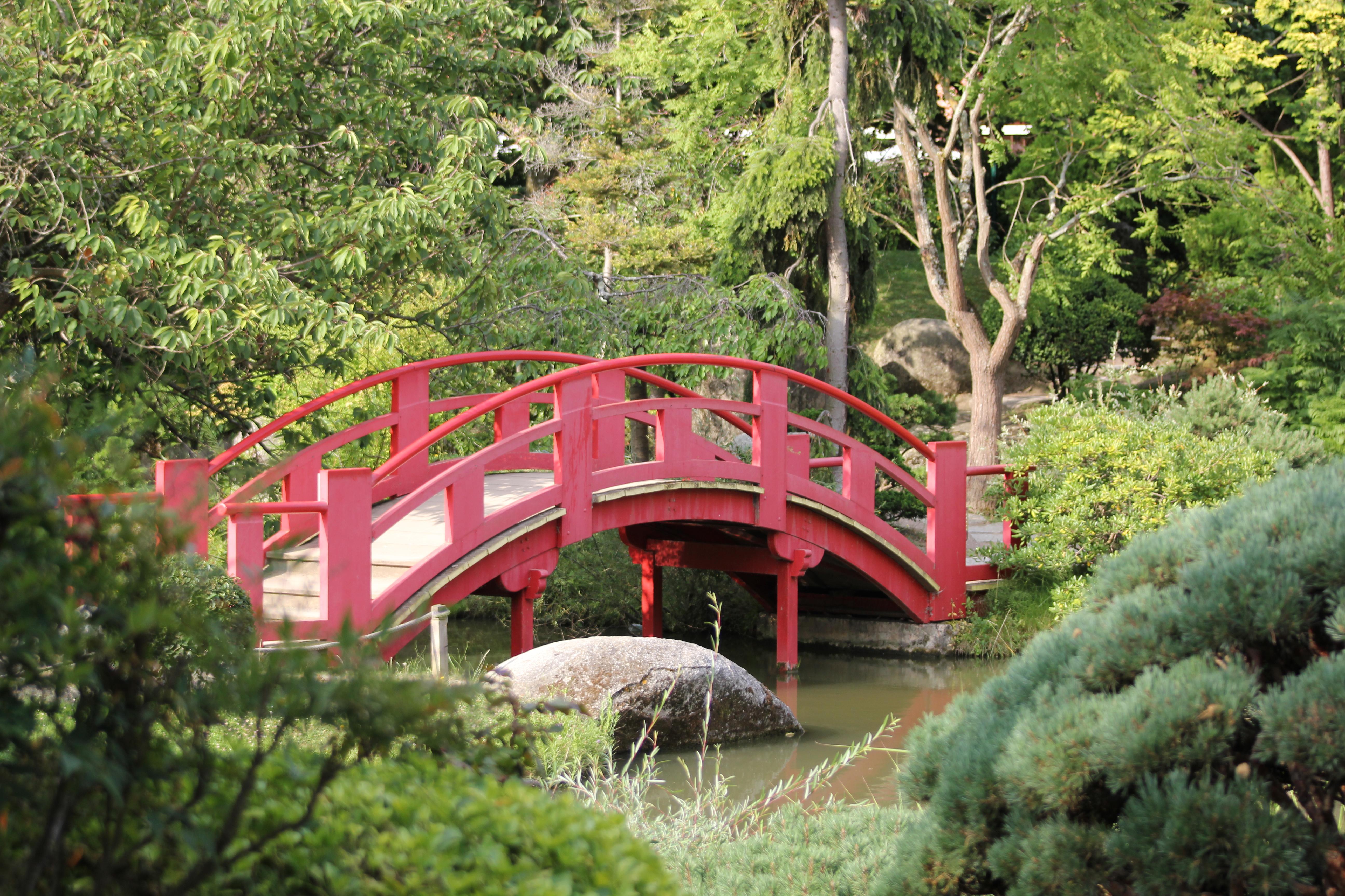 File:pont De La Lune Au Jardin Japonais.jpg - Wikimedia Commons dedans Modele De Jardin Japonais