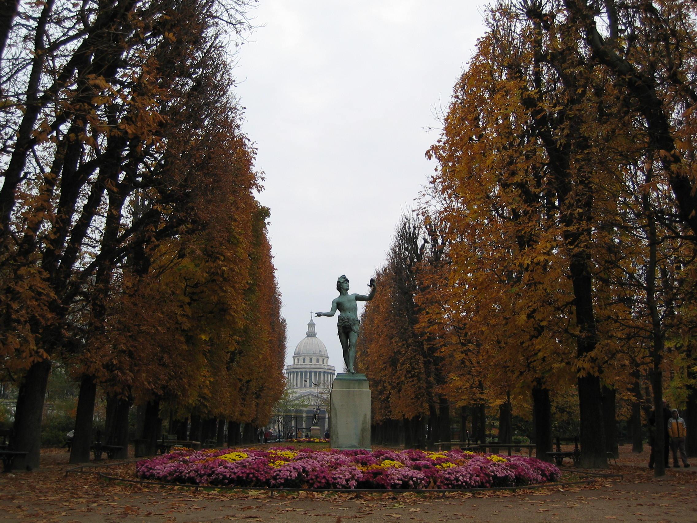 File:une Allée Au Jardin Du Luxembourg.jpg - Wikipedia avec Allee De Jardin