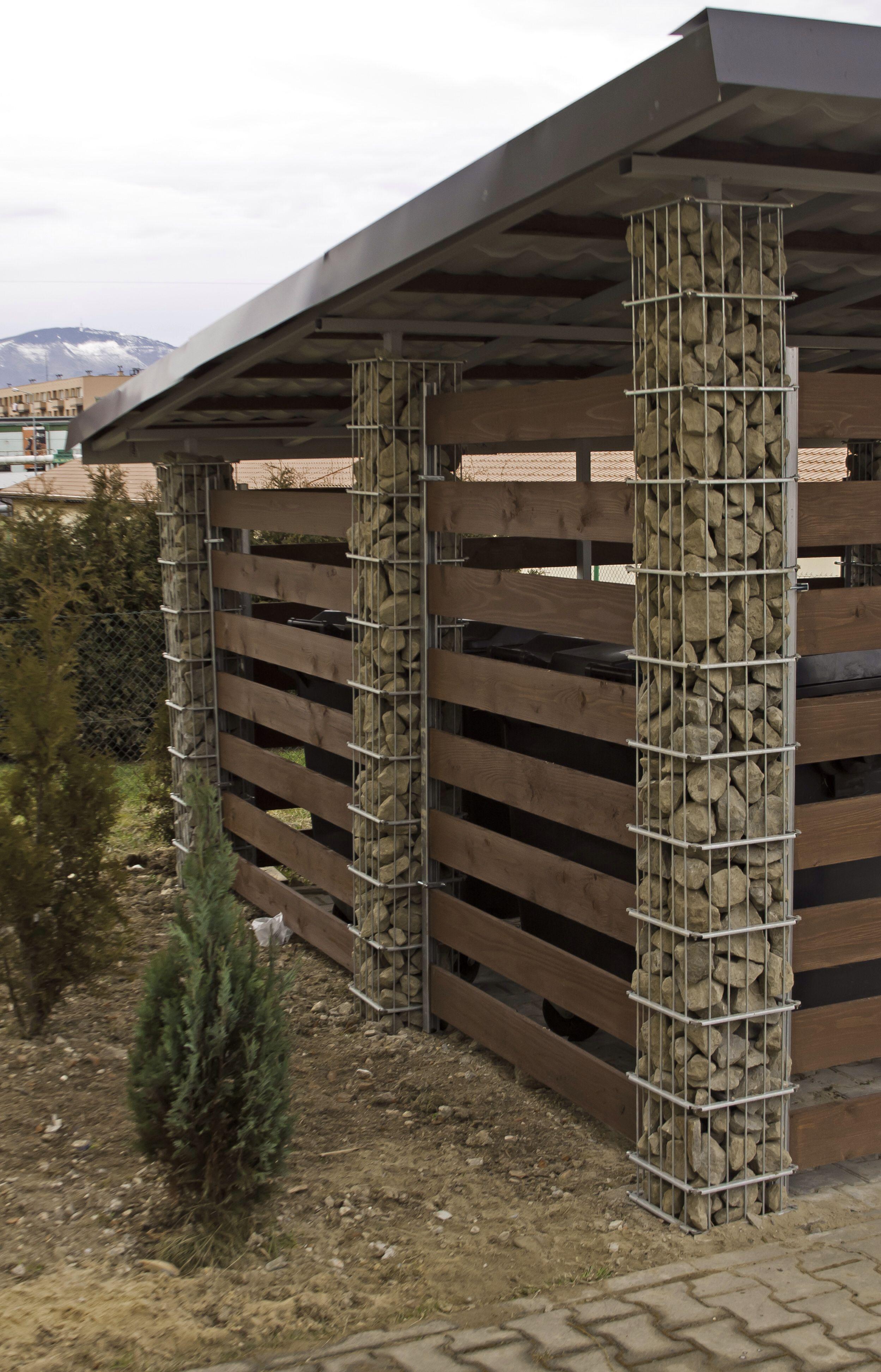 Gabion Wiata 350X420 Weldero | Aménagements Extérieurs ... serapportantà Abri De Jardin Design