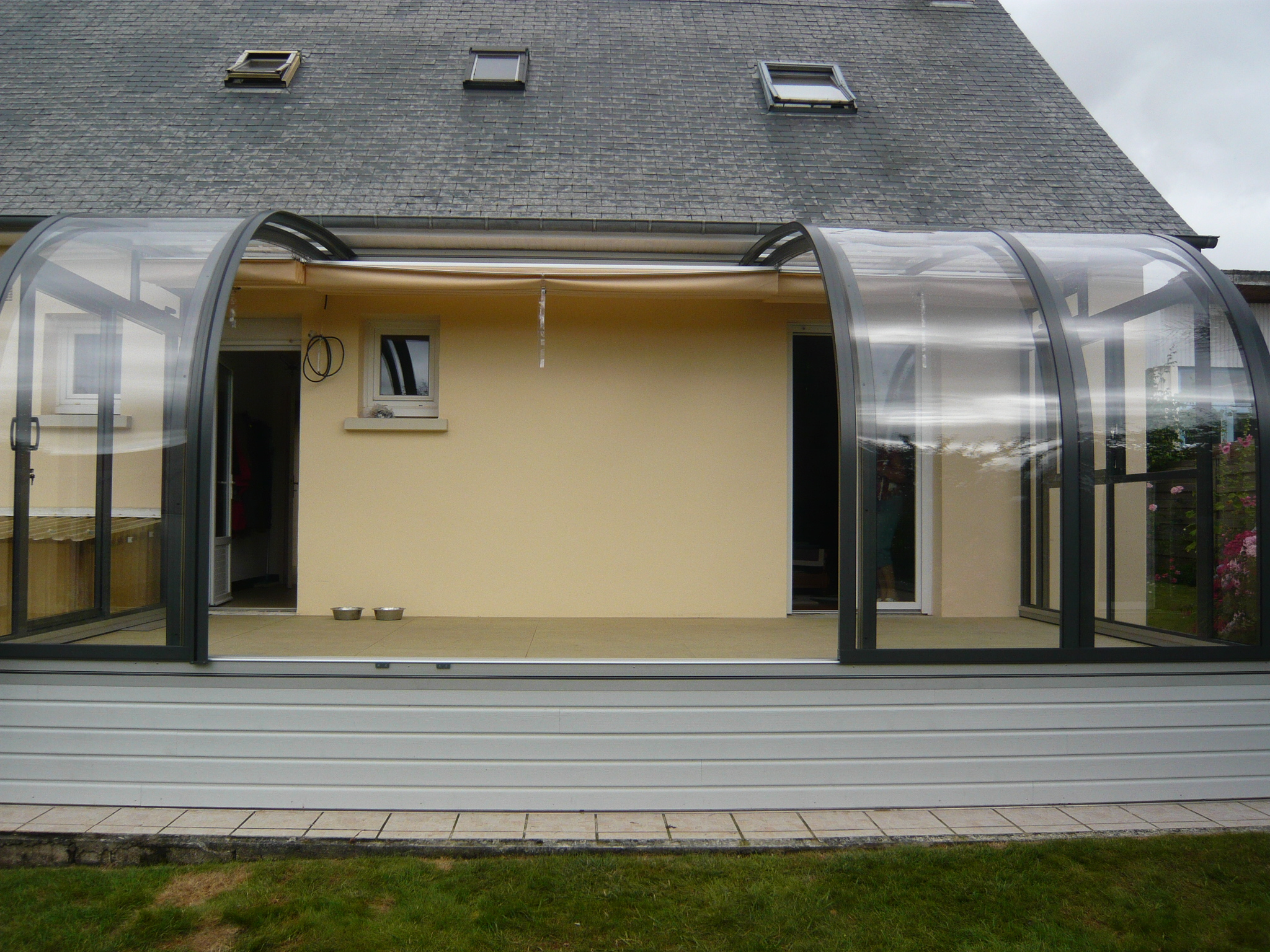 Gamme Saphir - Abri-T - Terrasse, Piscine, Spa, Voiture pour Abri De Terrasse Ferme