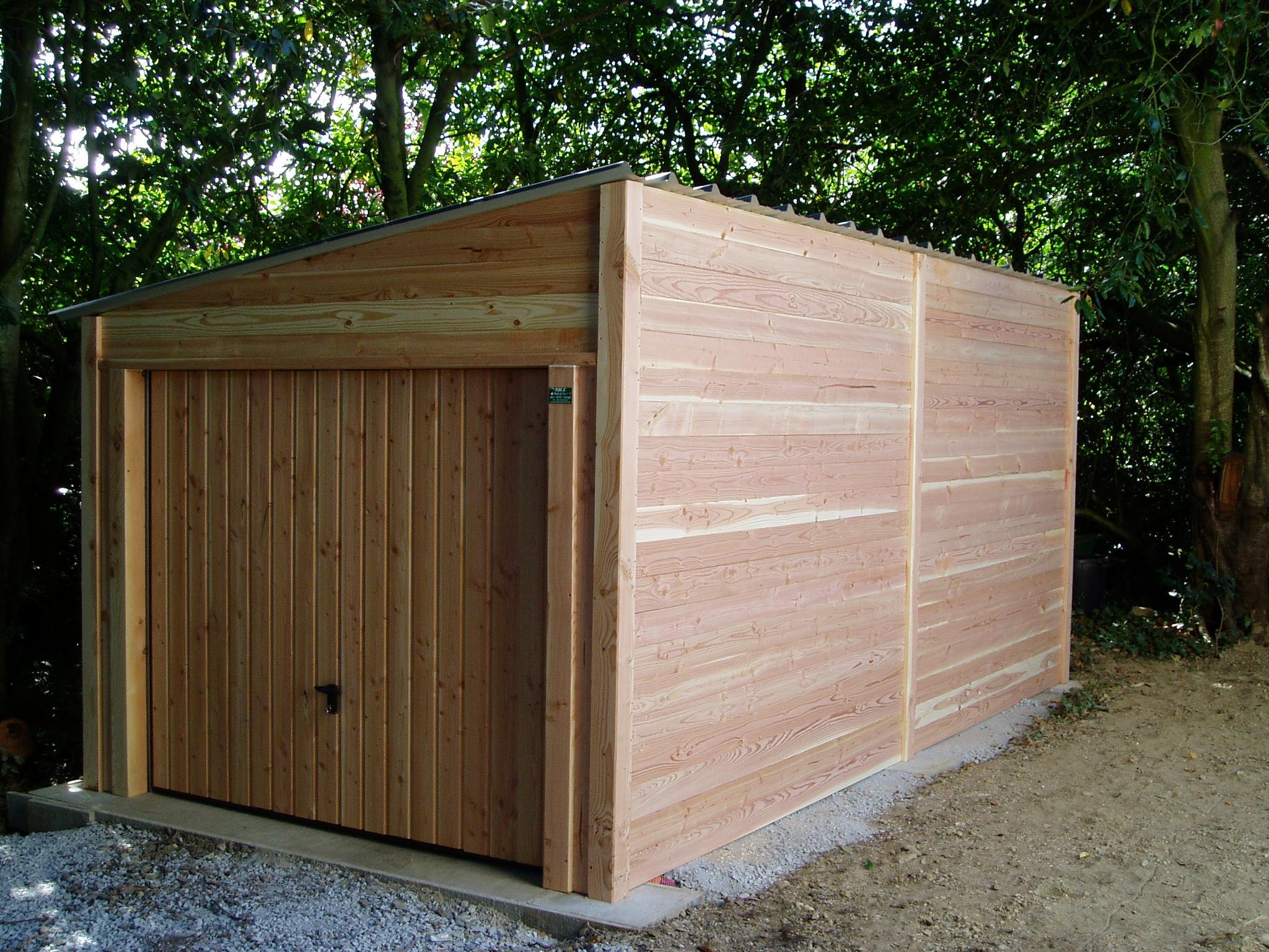 Garage 6 X 3 - 1 Pente concernant Abri De Jardin 1 Pente