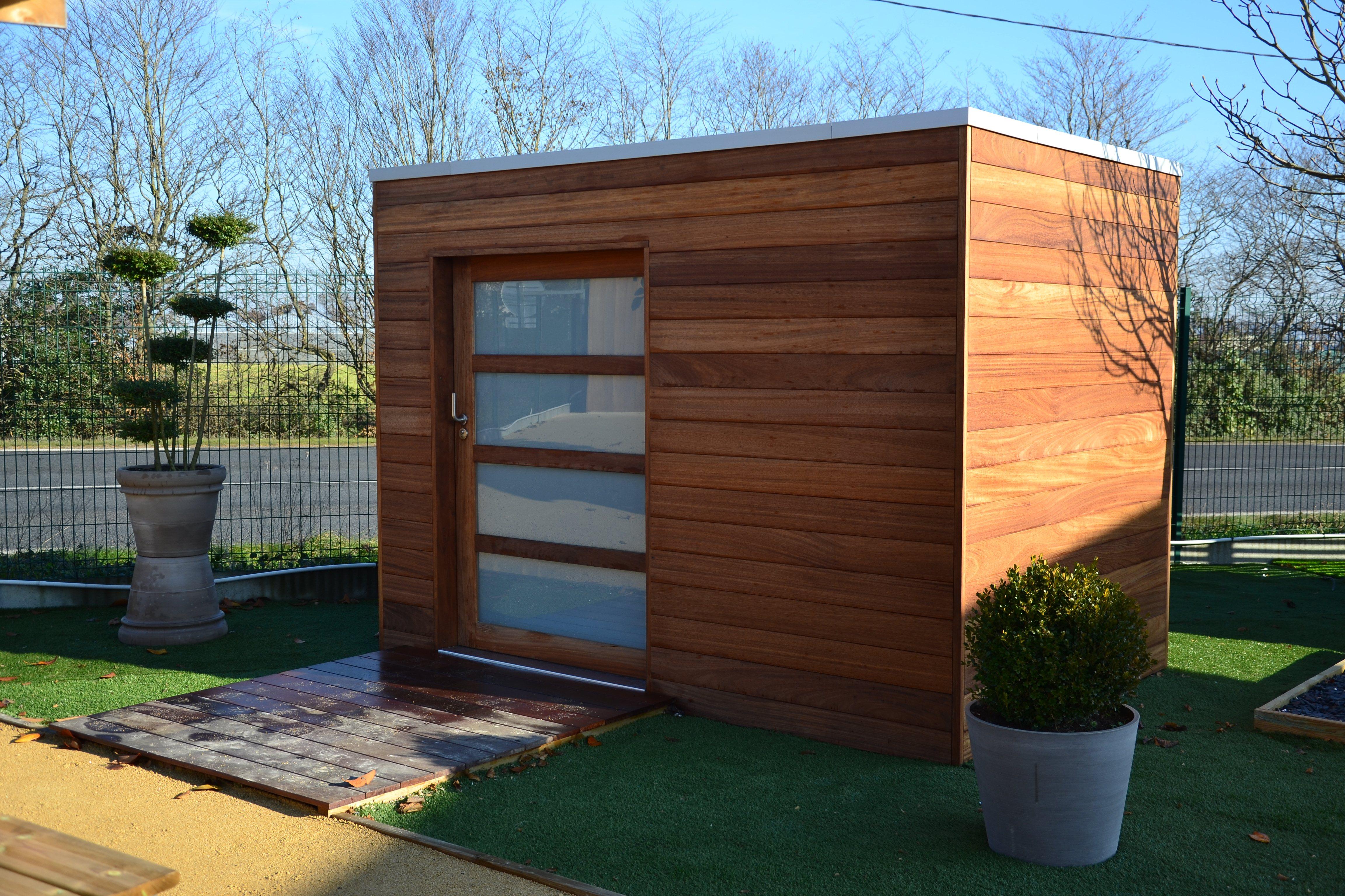 Garden House 8 Abris De Jardin 8 Ambiances Bois Expo dedans Abri De Jardin 19M2