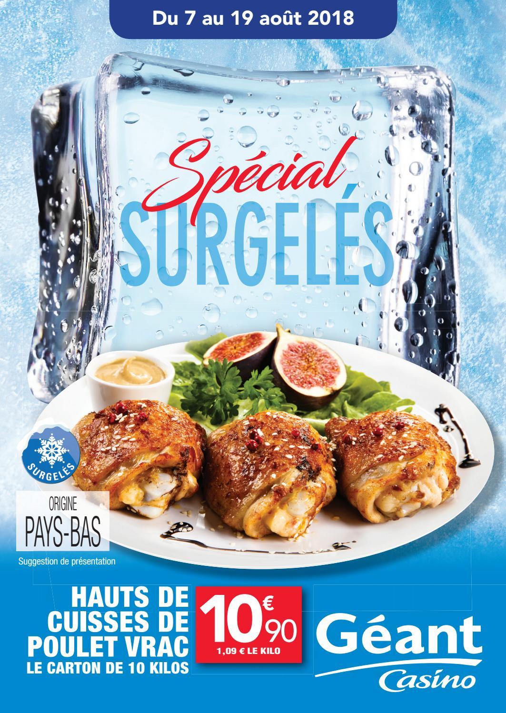 Géant Casino Guadeloupe : Spécial Surgelés ! By Momentum ... pour Piscine Geant Casino