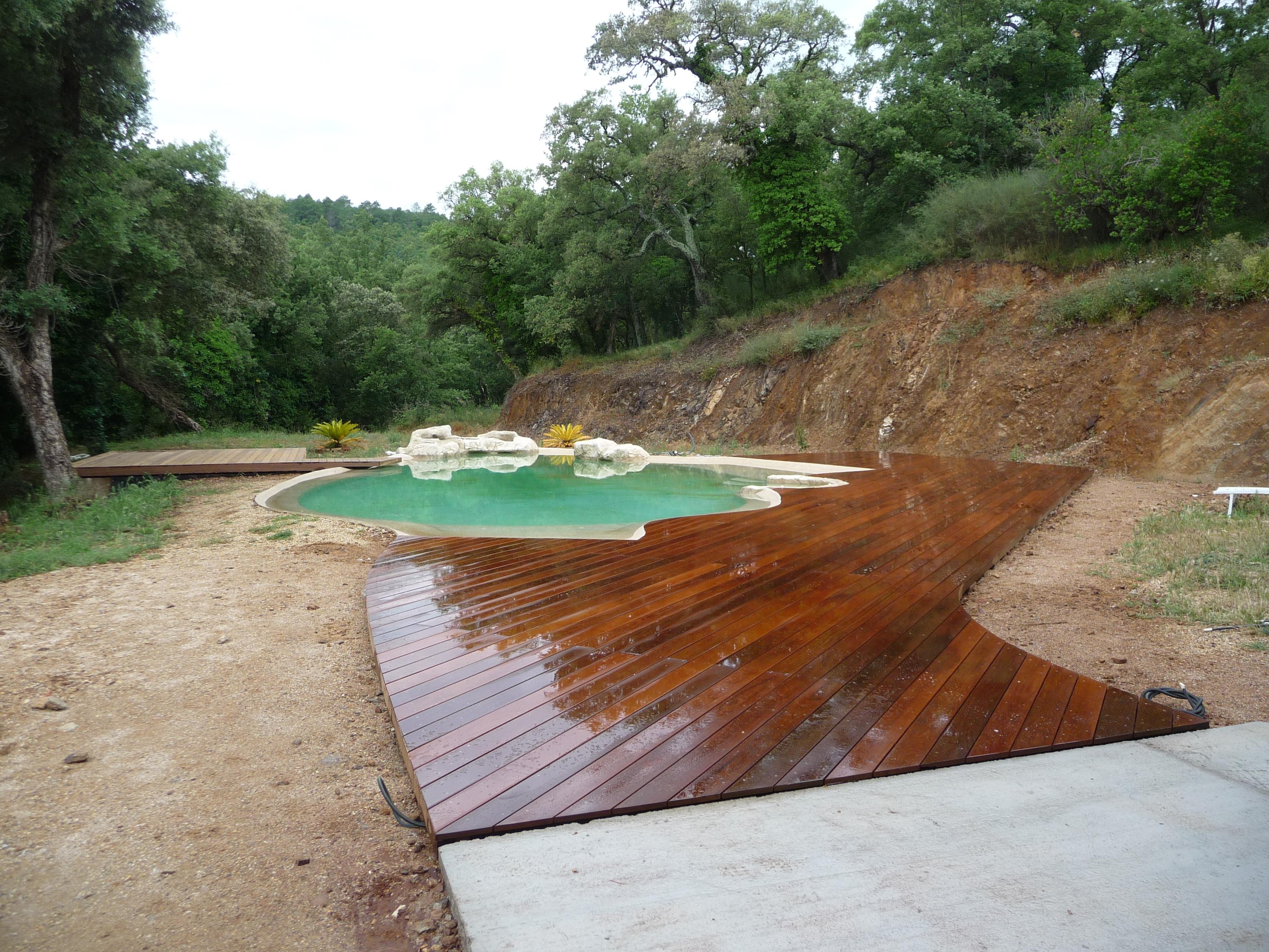 Générale-Construction » Terrasse De Piscine En Ipe avec Terrasse Ipe Piscine