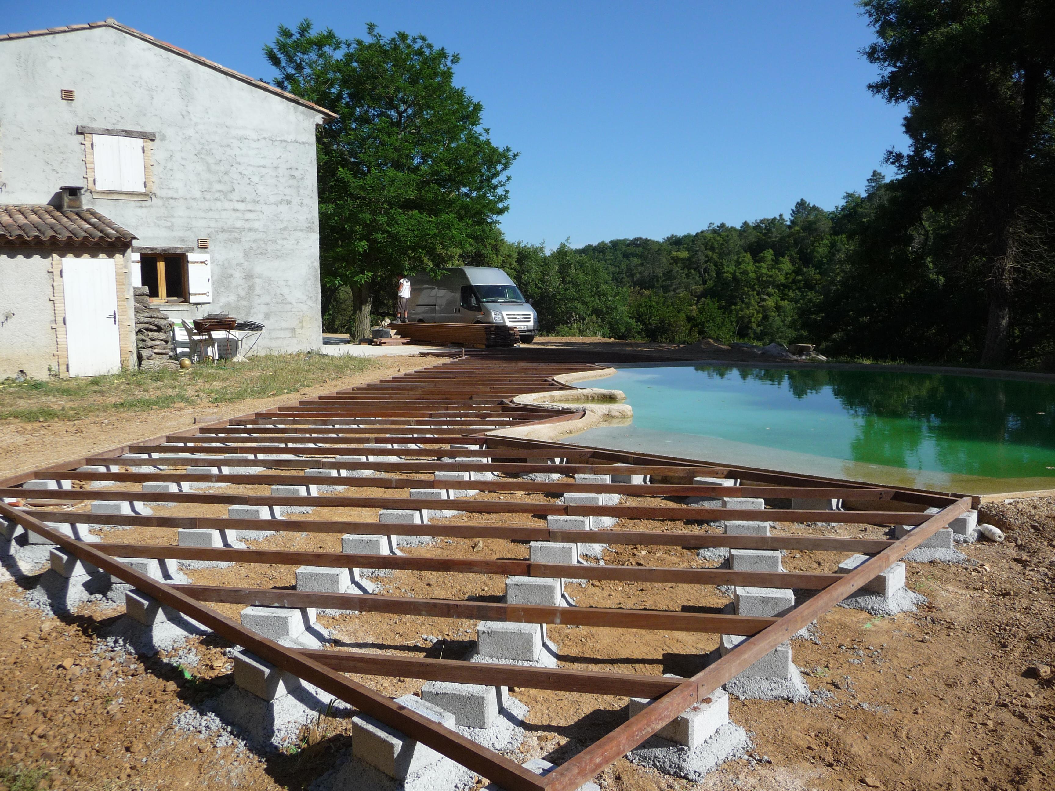 Générale-Construction » Terrasse De Piscine En Ipe destiné Terrasse Ipe Piscine
