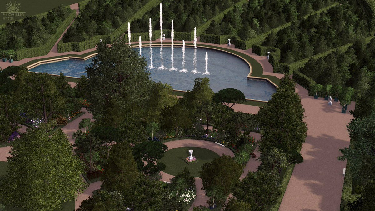 """Gèze On Twitter: """"care For A Stroll Around The Gardens ... intérieur Creation De Bassin"""