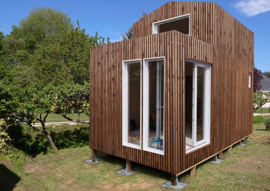 Greenkub : Une Maison Dans Votre Jardin En 48 Heures ... pour Abri De Jardin 30M2