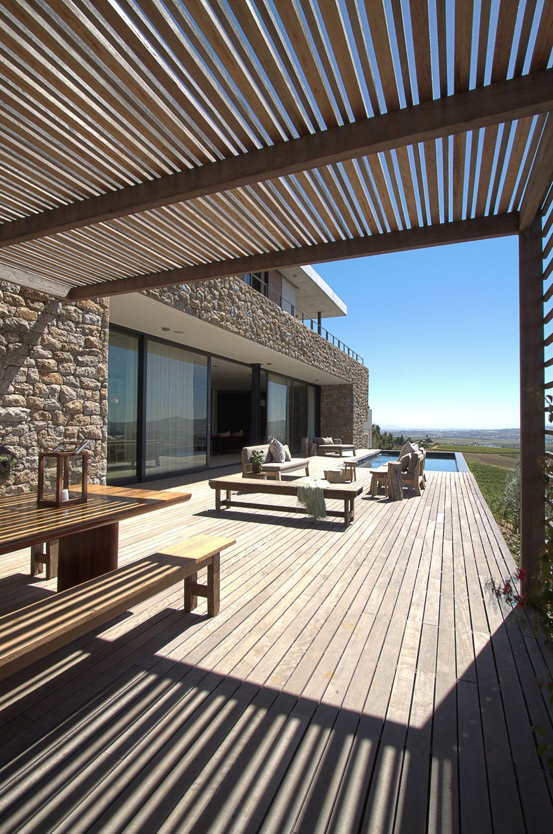 Hillside House By Gass Architecture Studios (9)   Terrasse ... à Terrasse Bois Composite