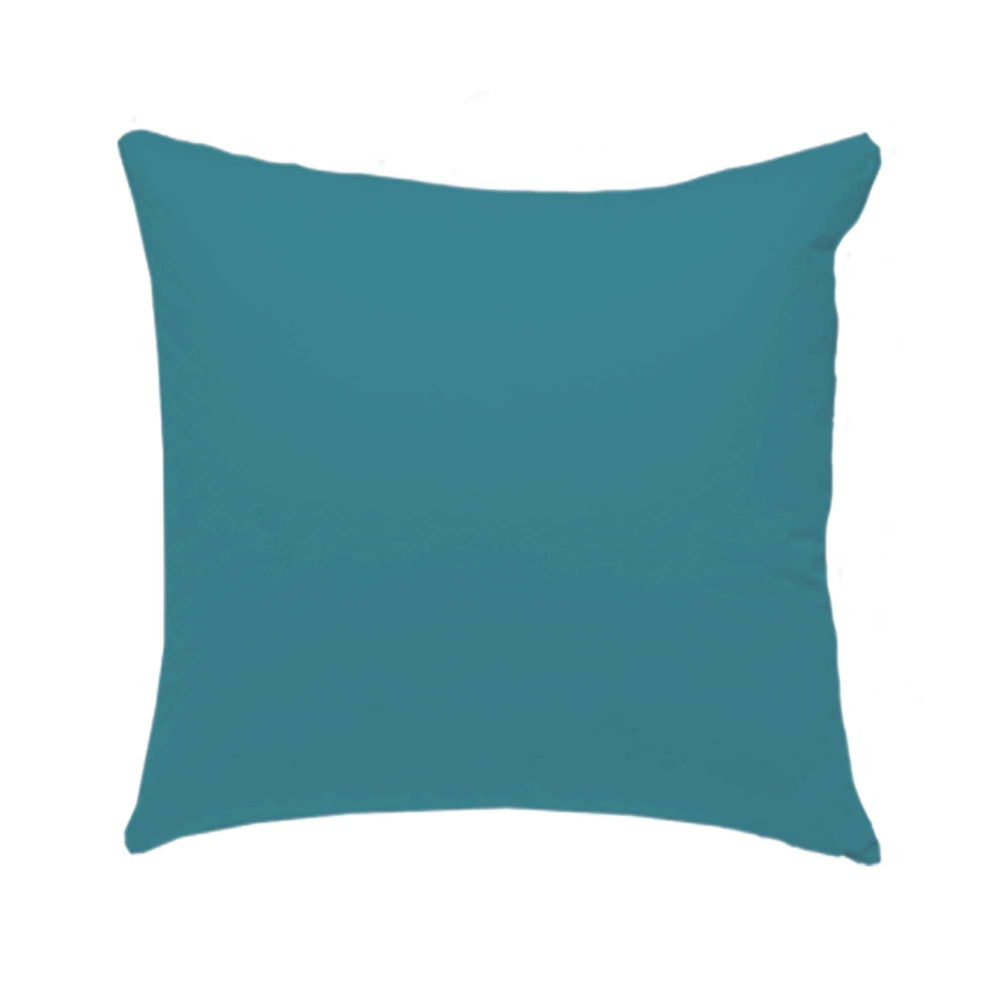 Housse De Coussin 40 X 40 Cm avec Coussin Bleu Turquoise