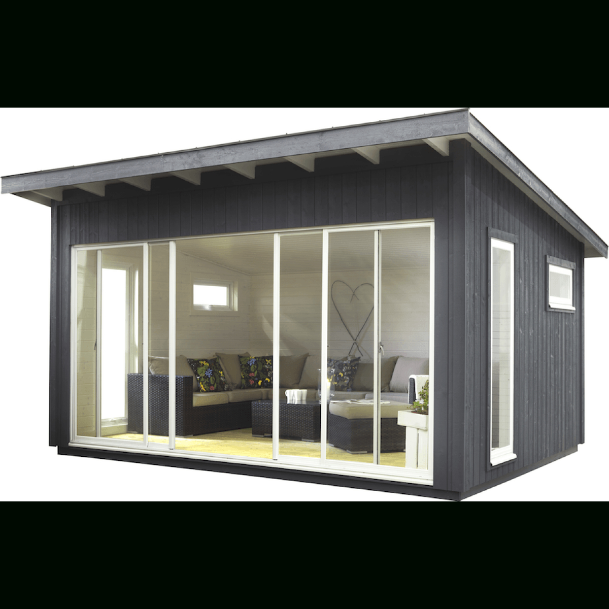 Idea By Soph 🌙 On Interior | Shed, Shed Plans, Backyard Office à Abri De Jardin 15M2