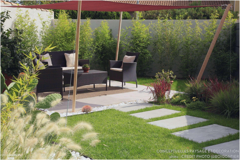 Idee Amenagement Jardin Devant Maison tout Decoration Jardin Zen Exterieur