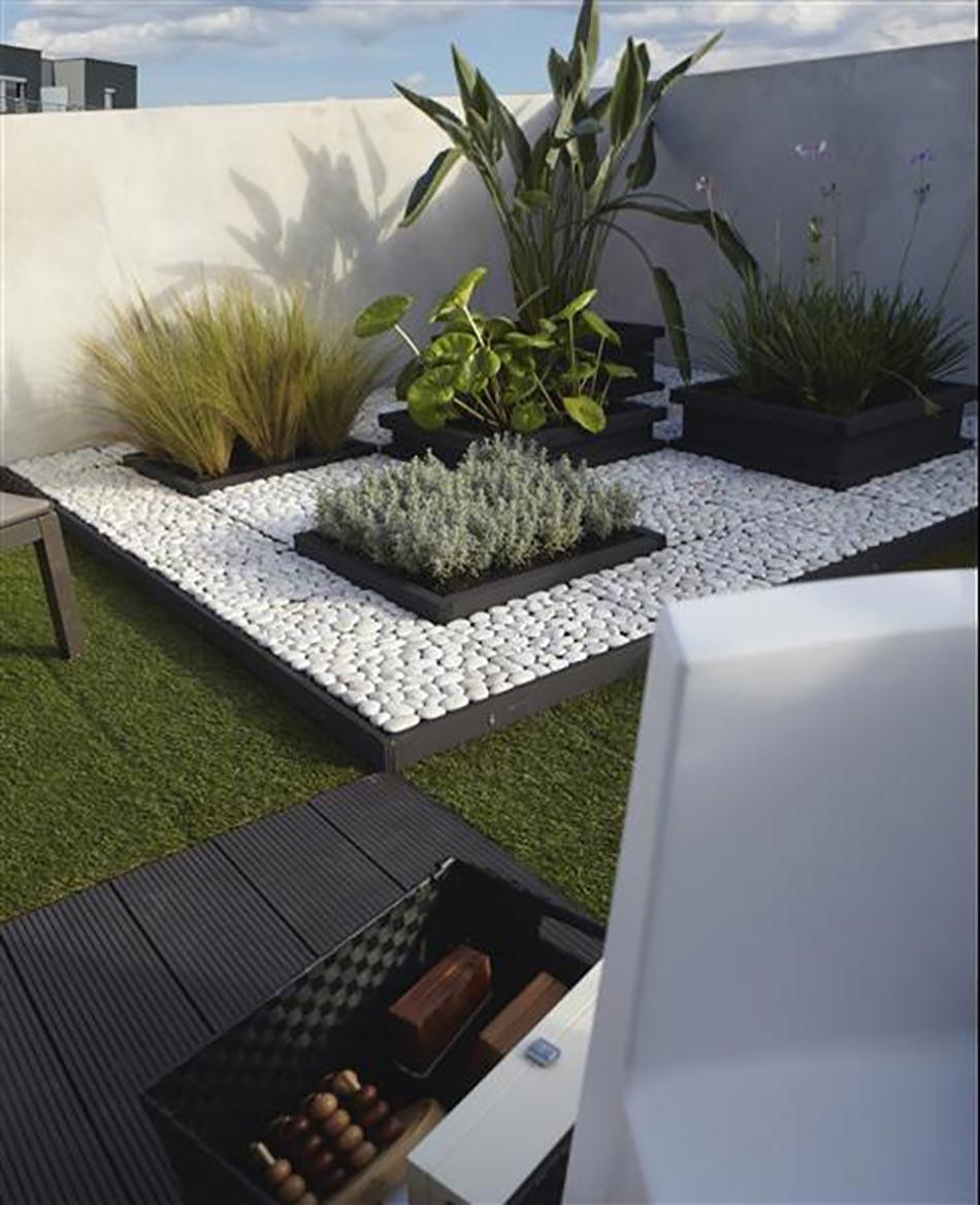 Idées Créatives Pour Un Jardin Paysagiste Unique | Design Feria intérieur Petit Jardin Paysager