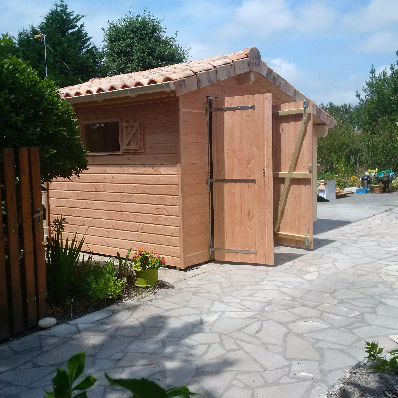 Image Par Charente Maisons Bois Sur Abris De Jardin | Abri ... à Abri De Jardin Maison