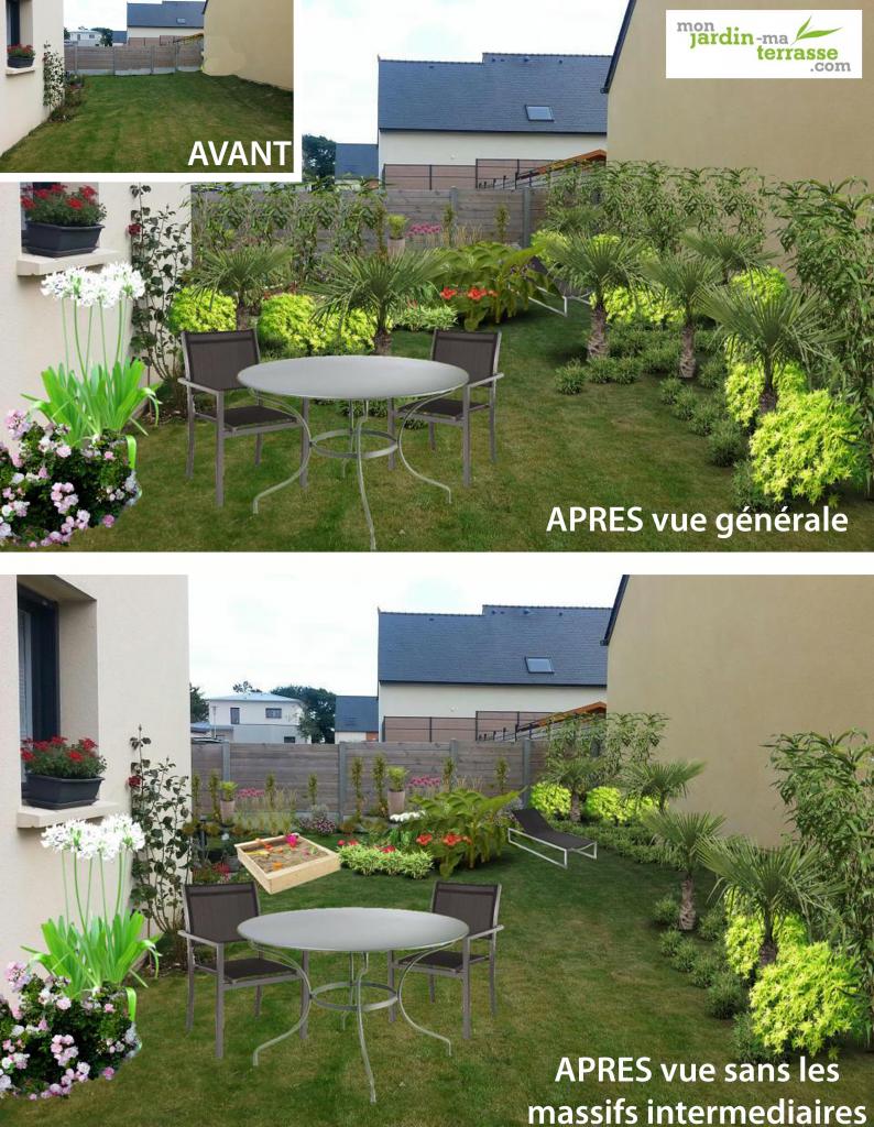 In 2020 destiné Amenager Jardin Rectangulaire
