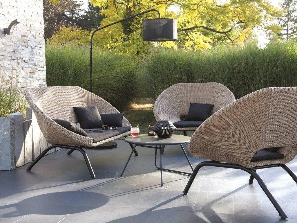 Inspirant Salon De Jardin Design Pas Cher   Décoration ... à Mobilier Extarieur Pas Cher