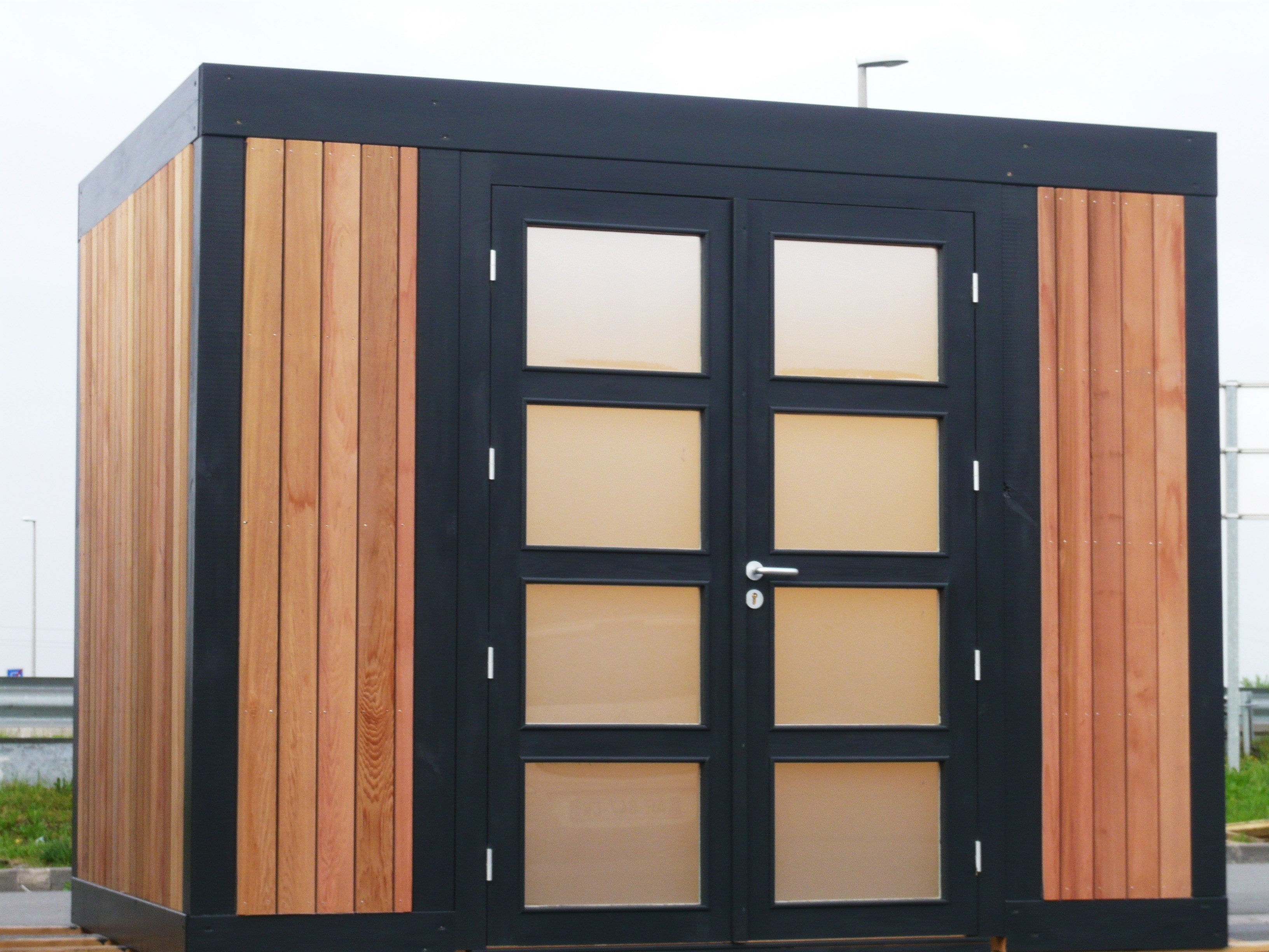 Installation Extension Maison En Bois Lille| Destombes Bois à Abri Jardin Moderne