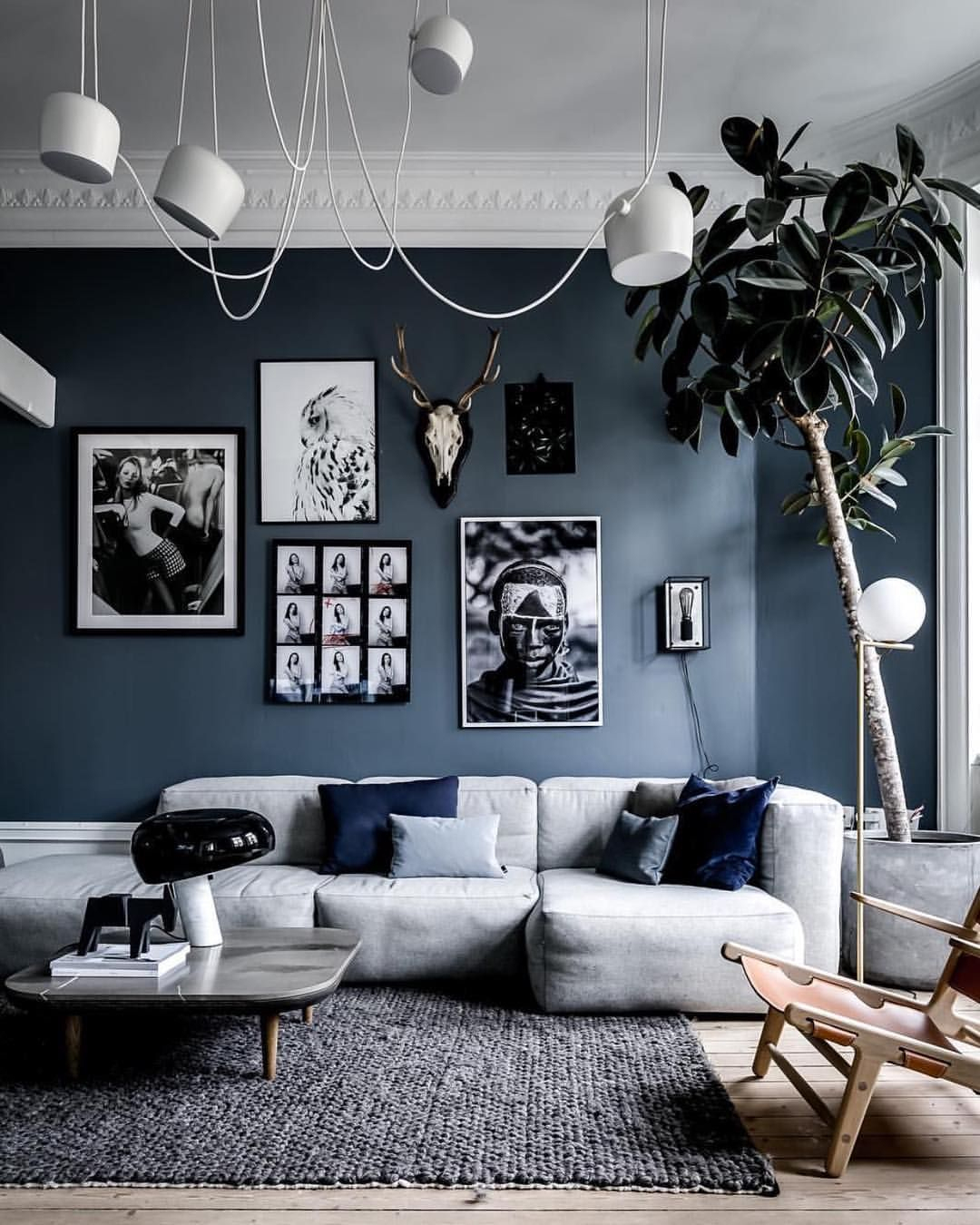 Interior | Lifestyle | LoveさんはInstagramを利用しています ... tout Salon Gris Et Blanc