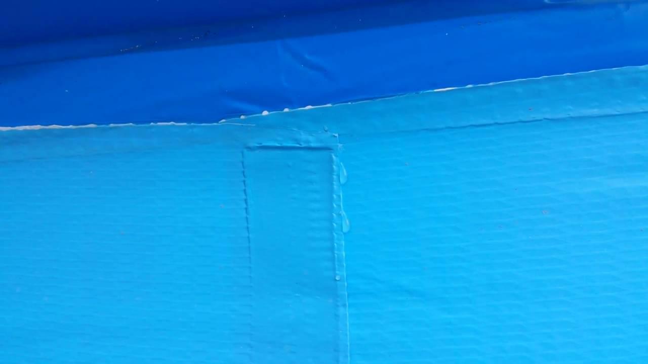 Intex Easy Set 3,05 M X 0,76 - Fuite D'eau Soudure - Piscine ... tout Rustine Piscine Intex
