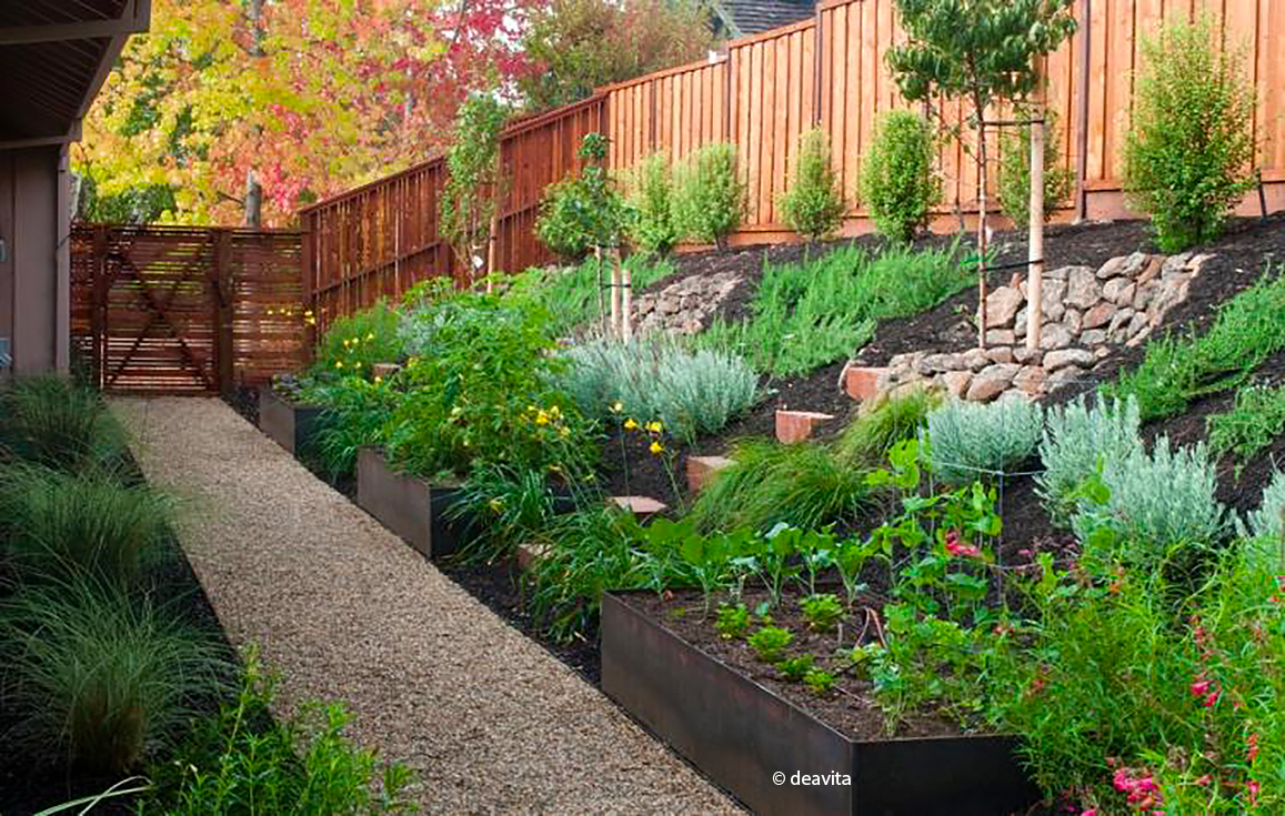 Jardin-En-Pente - Cmonjardinier avec Amanagement Jardin En Pente