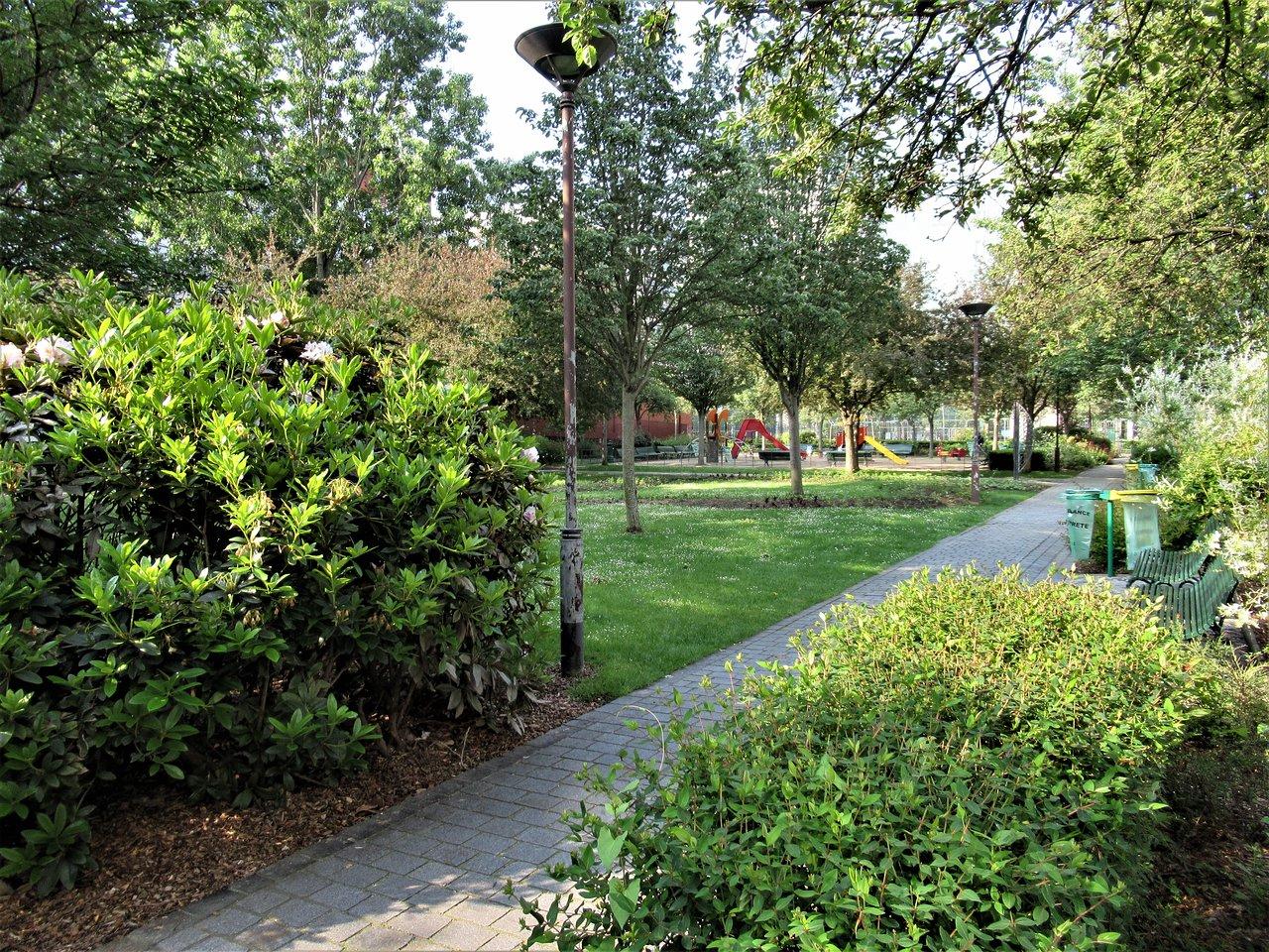 Jardin James-Joyce - Paris - Jardin James-Joyce Yorumları ... tout Allee De Jardin