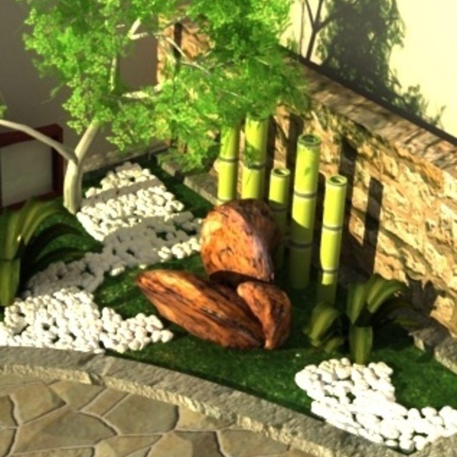 Jardin Japonais Modèle 3D $19 - .obj .max - Free3D destiné Modele De Jardin Japonais
