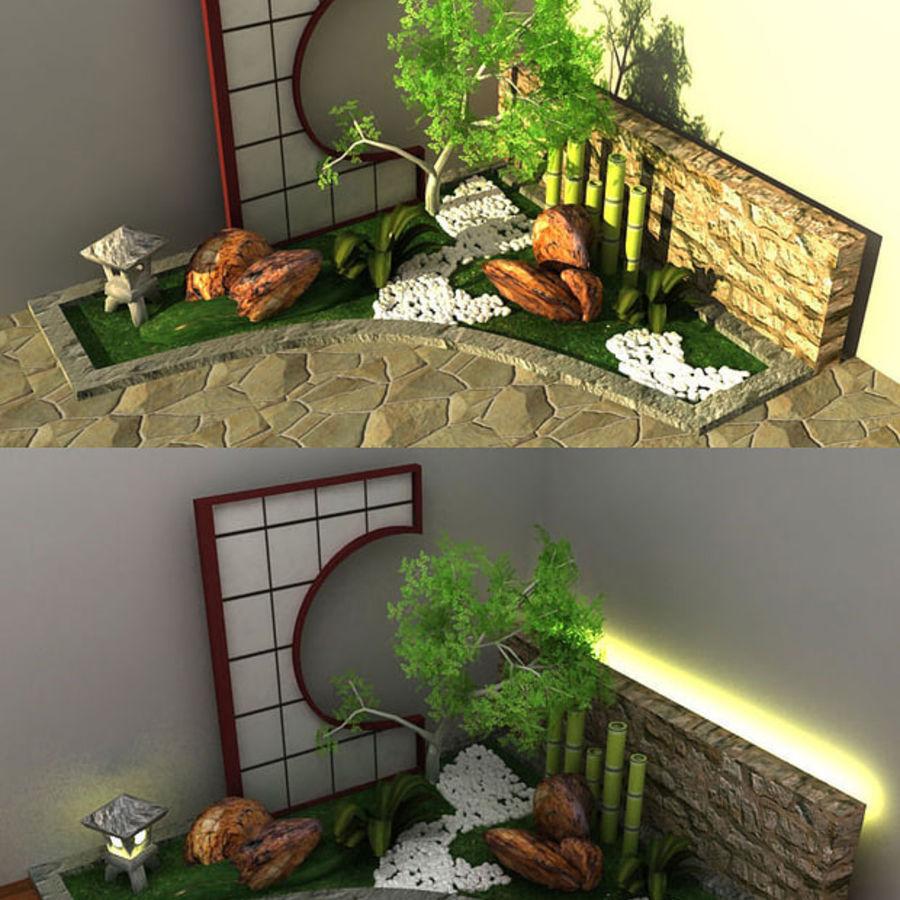 Jardin Japonais Modèle 3D $19 - .obj .max - Free3D tout Modele De Jardin Japonais
