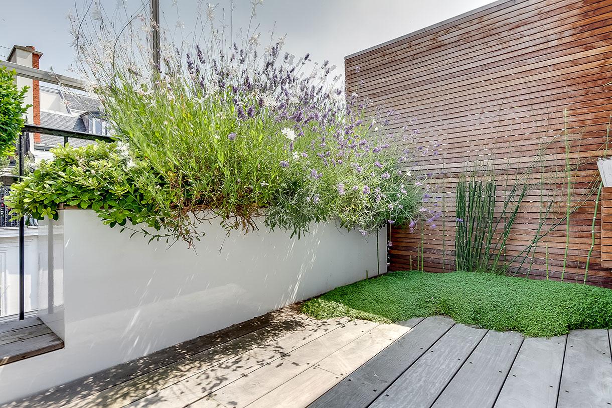 Jardin Urbain : Les Règles D'or Pour Un Aménagement Réussi. serapportantà Amenager Jardin Rectangulaire