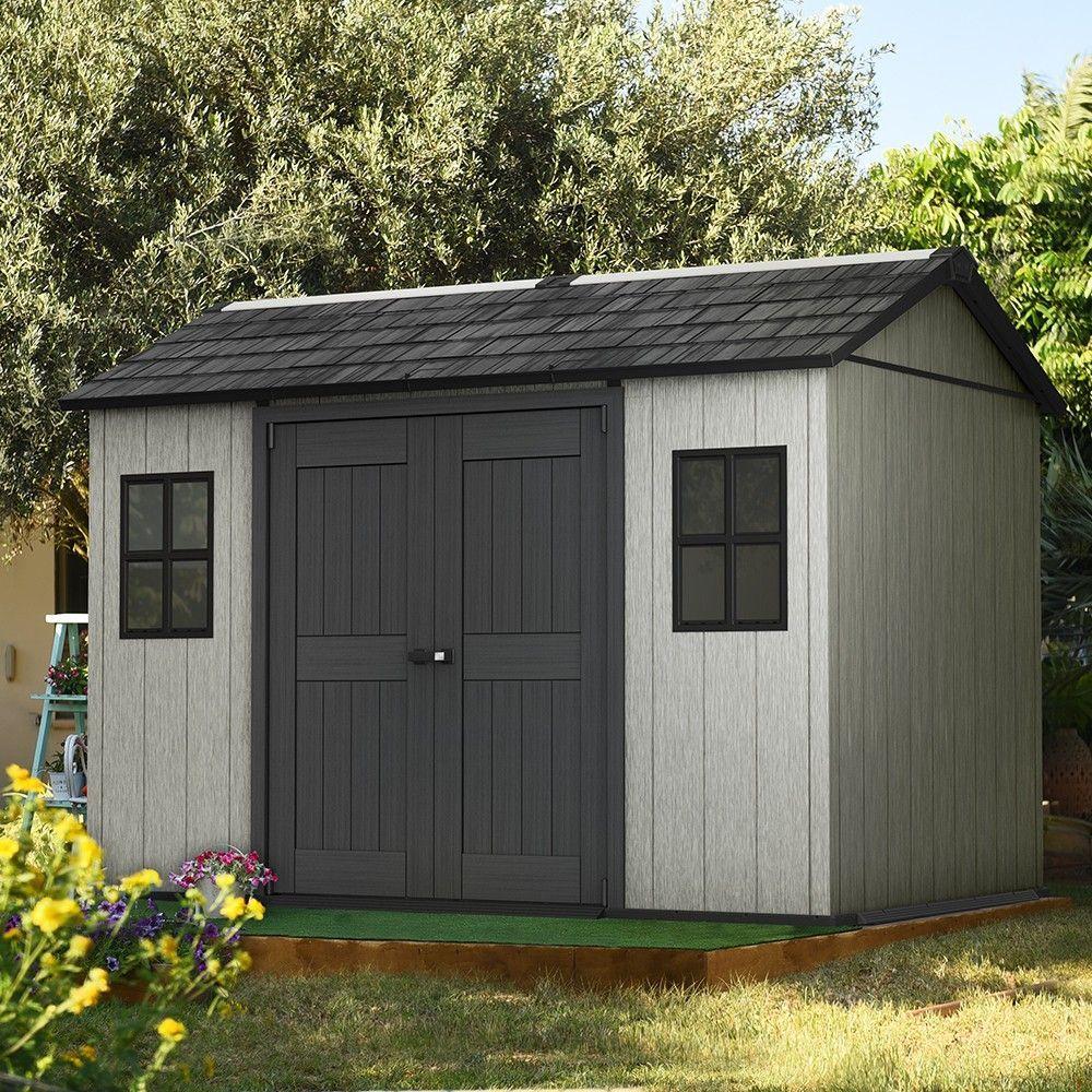 Keter Abri De Jardin En Résine 350 X 228 X 254 Cm Oakland ... destiné Abri De Jardin Keter