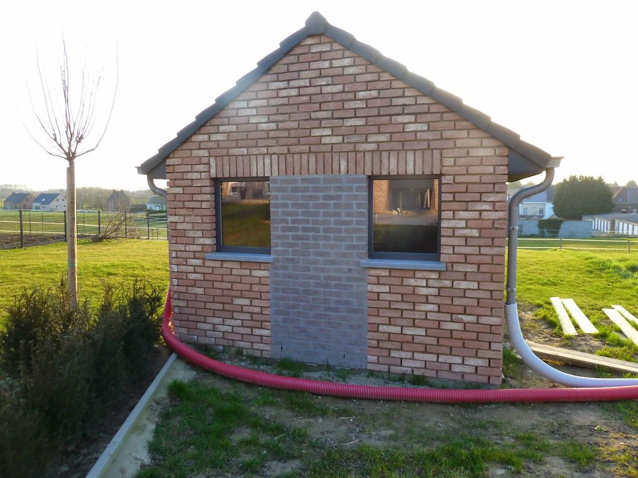 La Construction De Notre Maison: L'abri De Jardin (8) intérieur Abri De Jardin Maison
