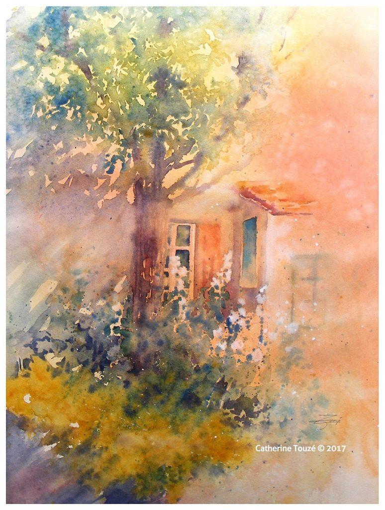 La Maison Bleue - Place To Paint avec La Maison De Catherine