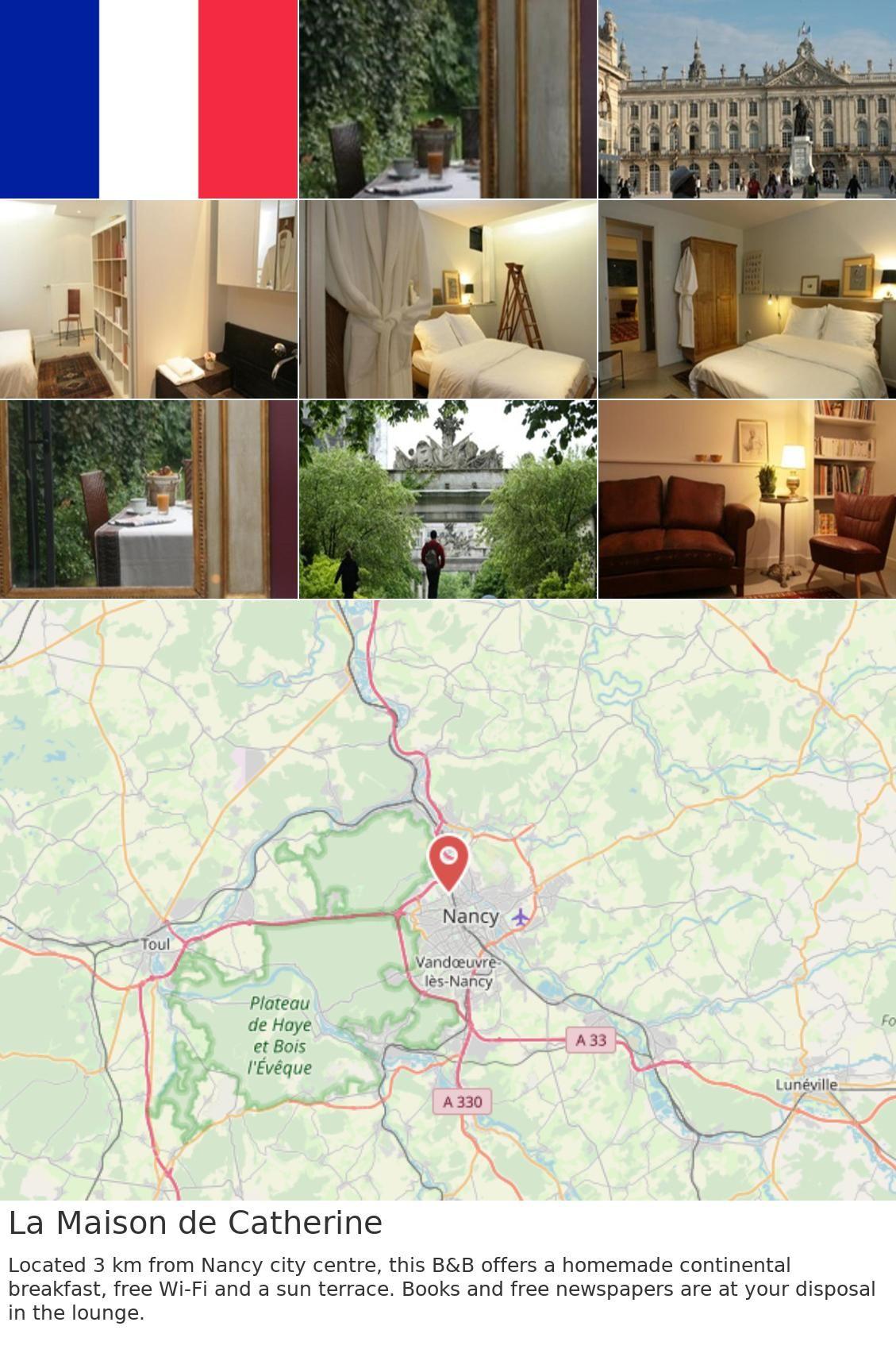 La Maison De Catherine | France | Continental Breakfast ... intérieur La Maison De Catherine