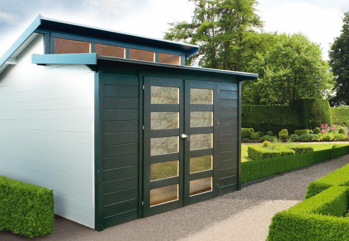 L'abri Design Et Moderne Pour Une Harmonie Naturelle – Blog ... à Abri De Jardin Moderne