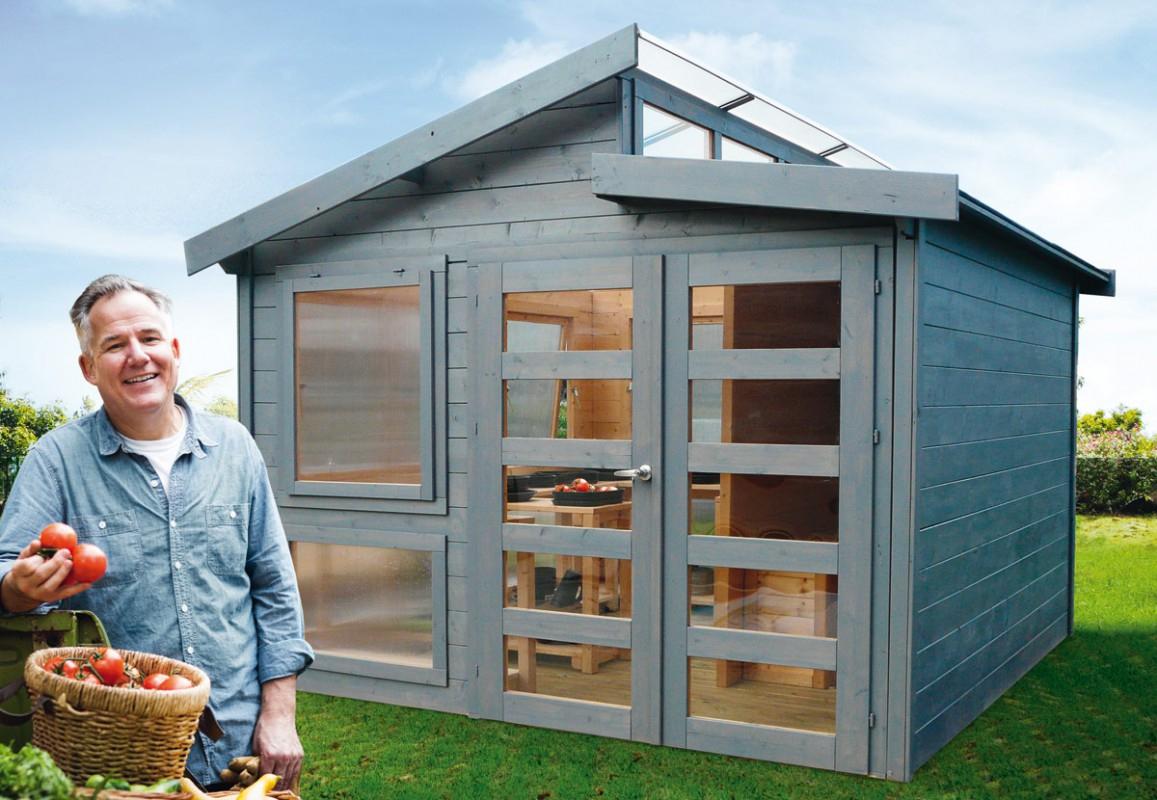 L'abri Design Et Moderne Pour Une Harmonie Naturelle – Blog ... pour Abri De Jardin Moderne
