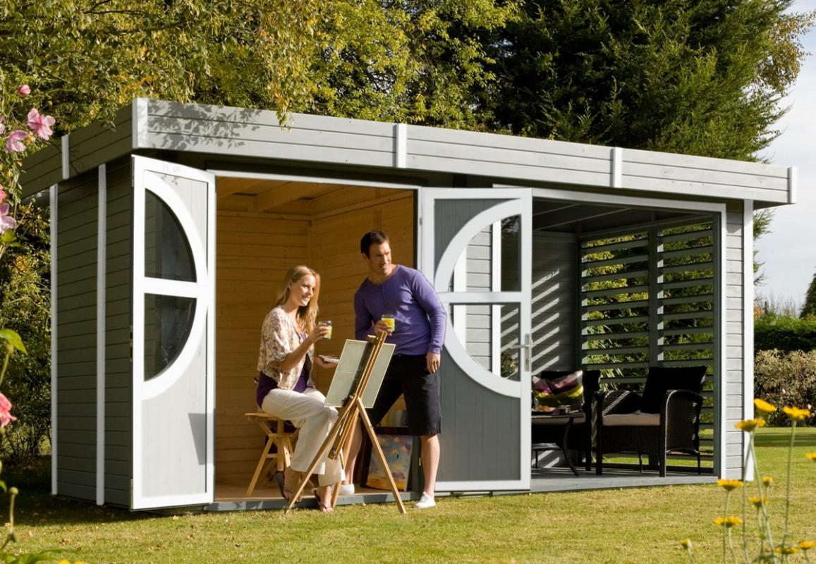 L'abri Design Et Moderne Pour Une Harmonie Naturelle – Blog ... serapportantà Abri Jardin Moderne