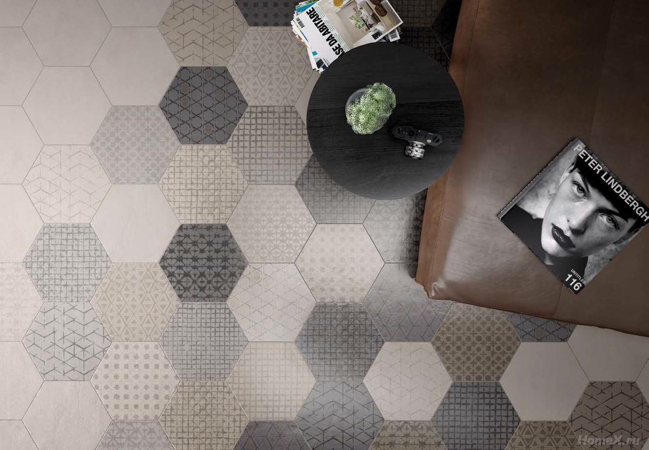 Le Carrelage Hexagonal, Une Tendance Intemporelle - Jdo ... encequiconcerne Carrelage Sol Hexagonal