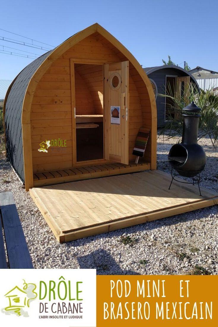 Le Pod Mini, Jolie Cabane Insolite De Moins De 5M2 Ne ... à Abri De Jardin Moins De 5M2