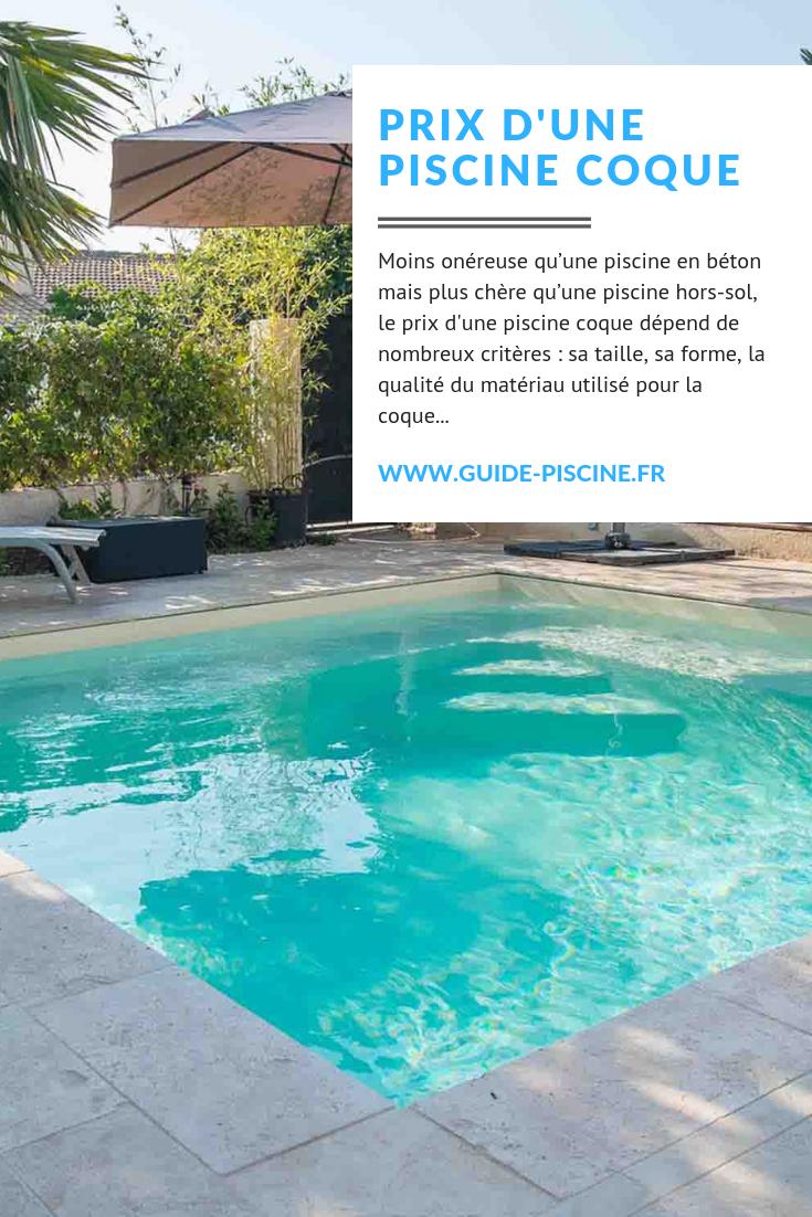 Le Prix D'une Piscine Coque | Piscine Coque, Piscine Et ... avec Prix Piscine Coque