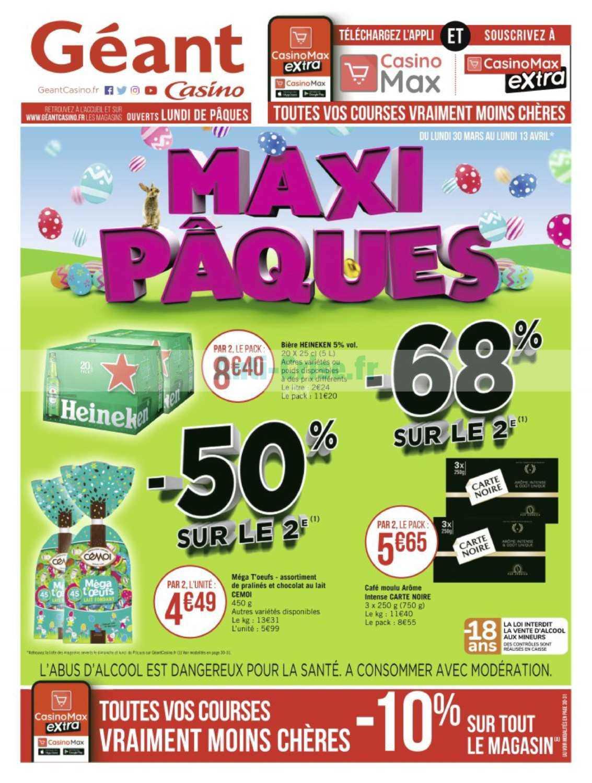 Les Catalogues De Vos Supermarchés - Catalogues Promos ... avec Piscine Geant Casino