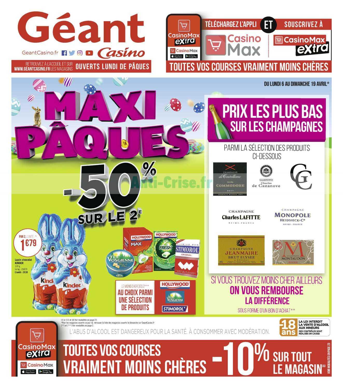 Les Catalogues De Vos Supermarchés - Catalogues Promos ... tout Piscine Geant Casino