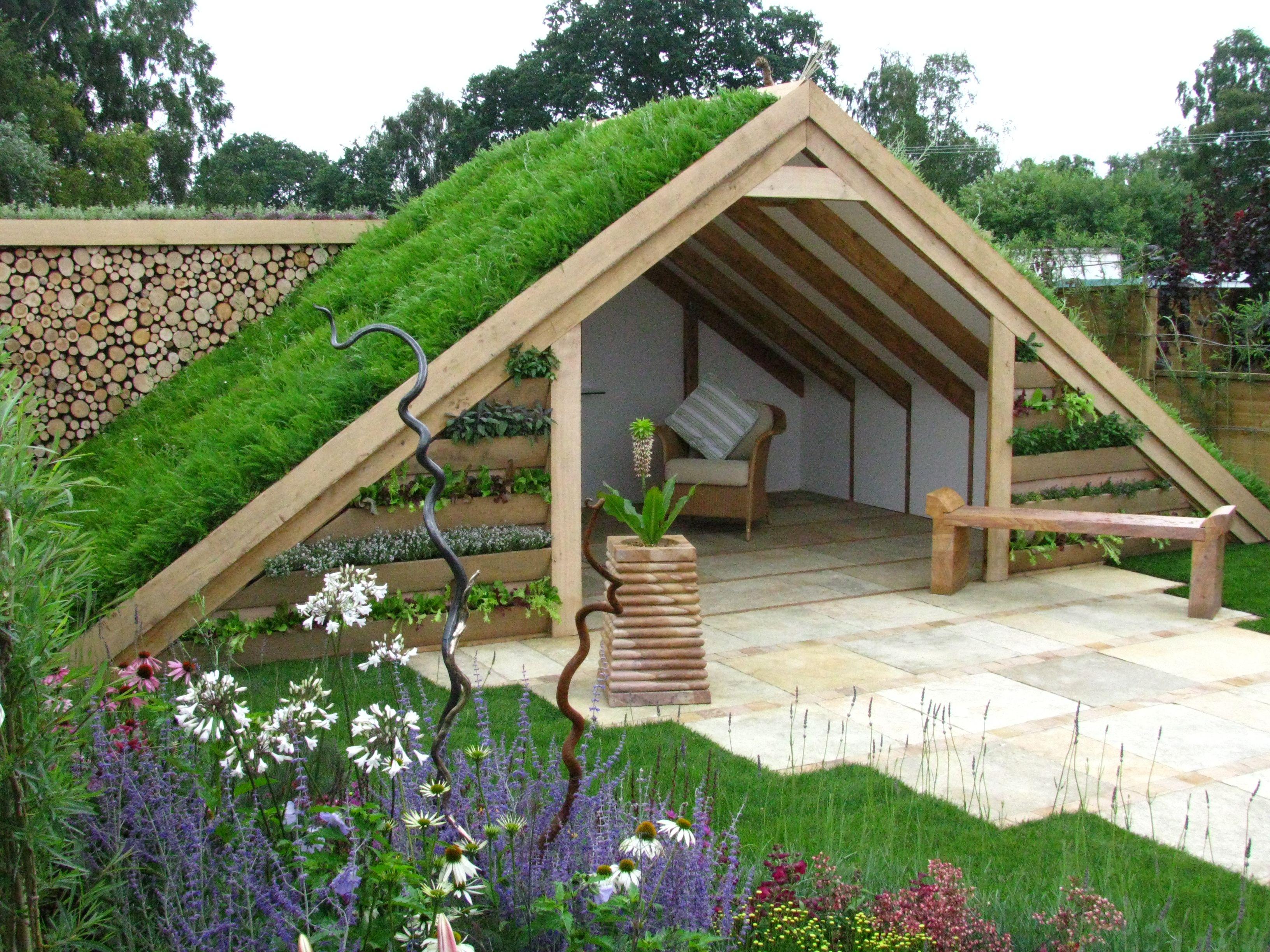 "Living Room"" By Thislefield Plants & Design – Golden Award ... à Abri Jardin Design"