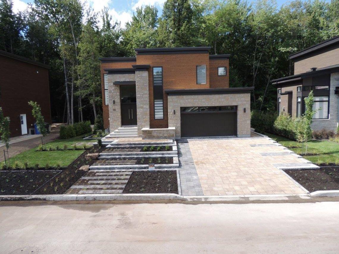 Maison Neuve Et Aménagement Extérieur Par Où Commencer ... pour Amanagement Extarieur Maison