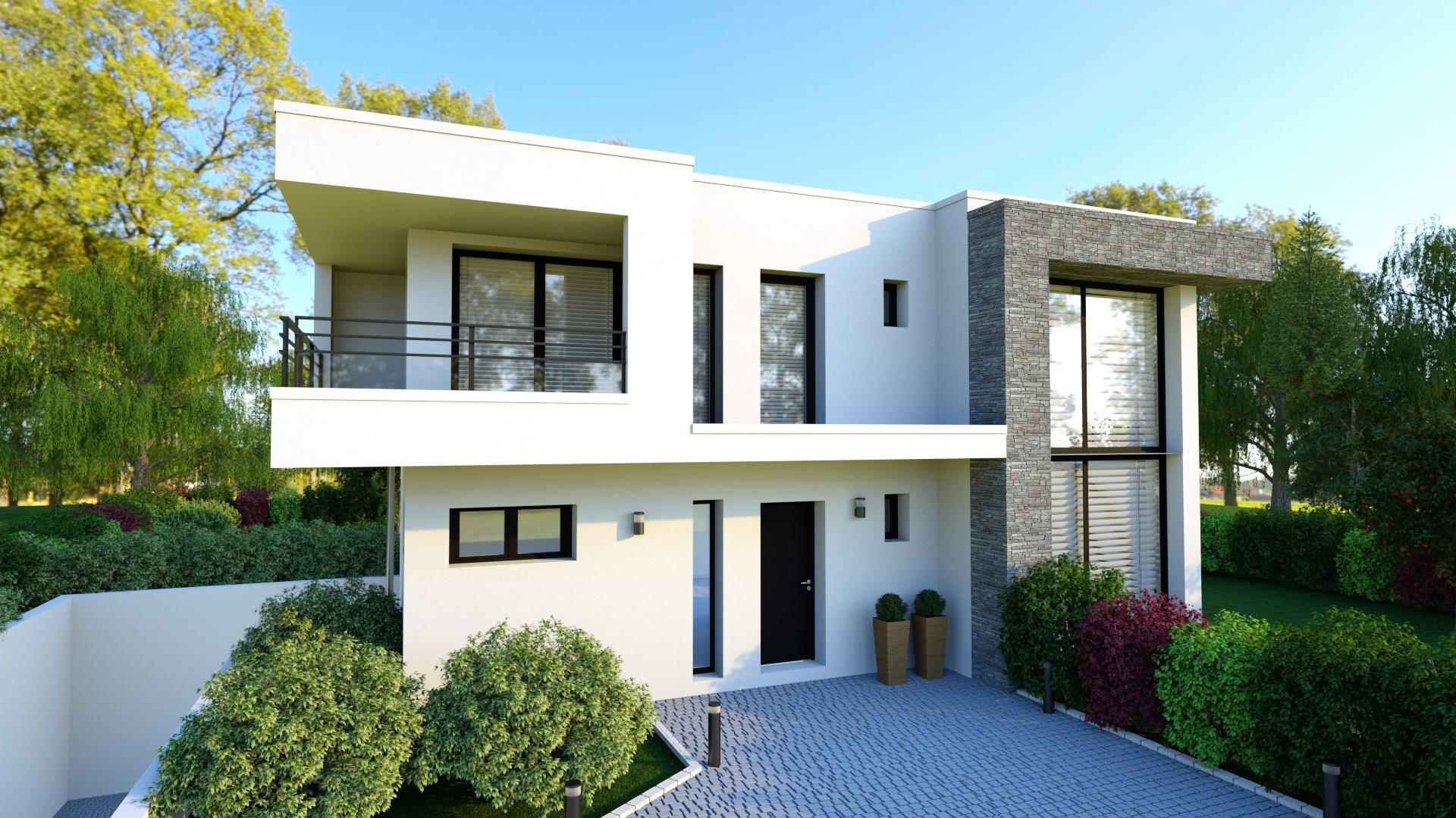 Maison Toiture Terrasse Avec Sous-Sol avec Terrasse Toit Plat