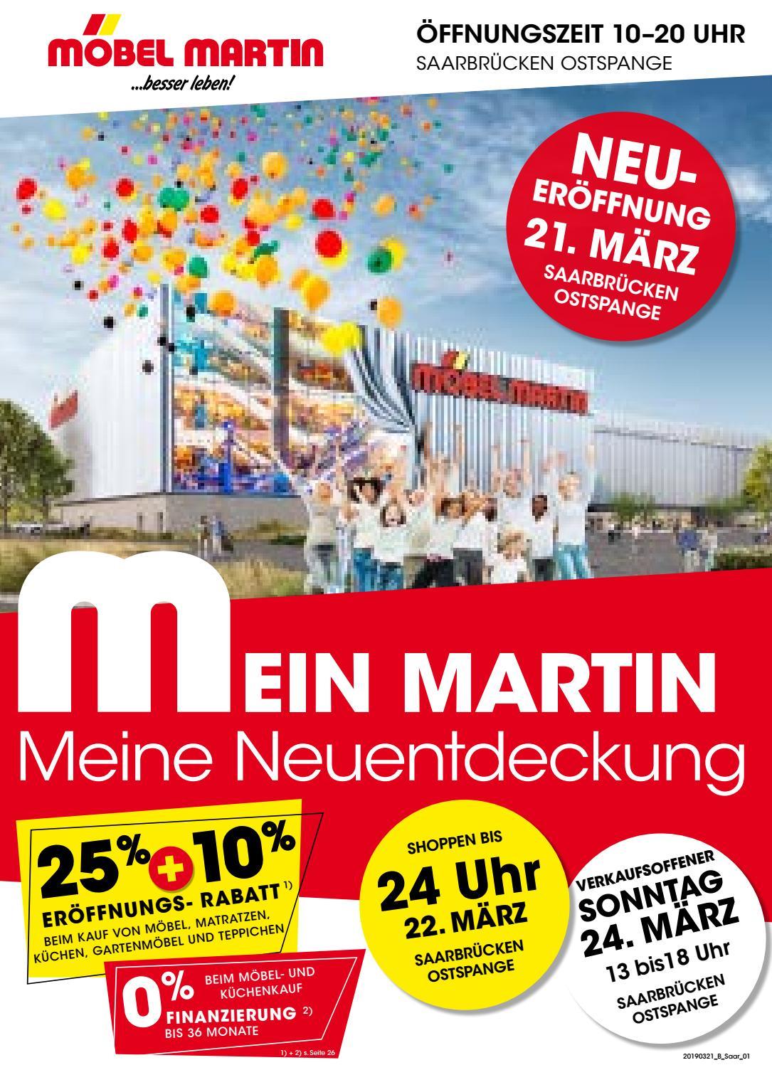 Möbel Martin | 21.03.2019 By Saarbrücker Verlagsservice Gmbh ... dedans Mobel Martin Canape
