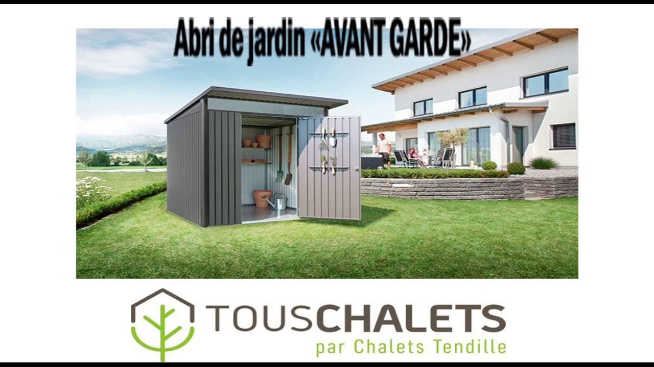 Modèle Avant Garde Biohort Par Chalets Tendille avec Abri Jardin Design