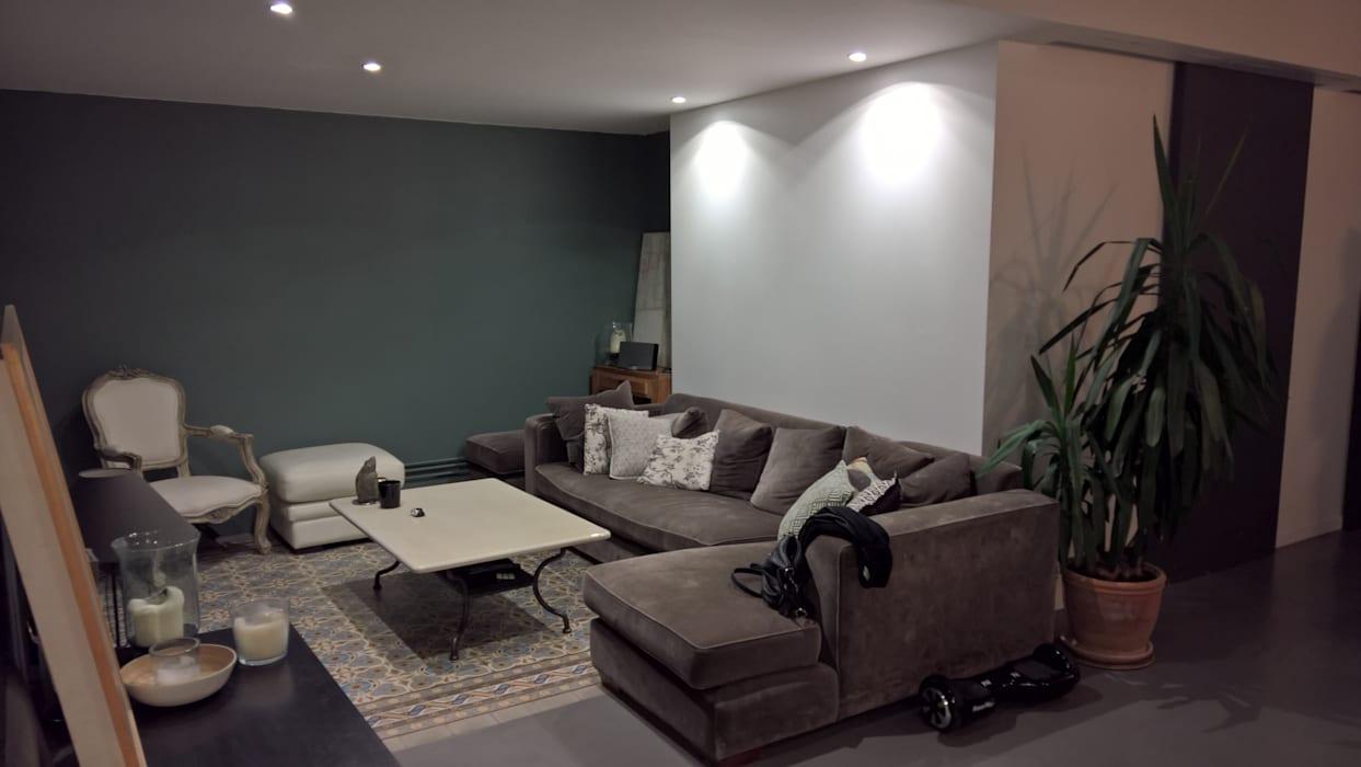 Modern Oturma Odası L&d Intérieur Modern | Homify pour Verriere Jardin