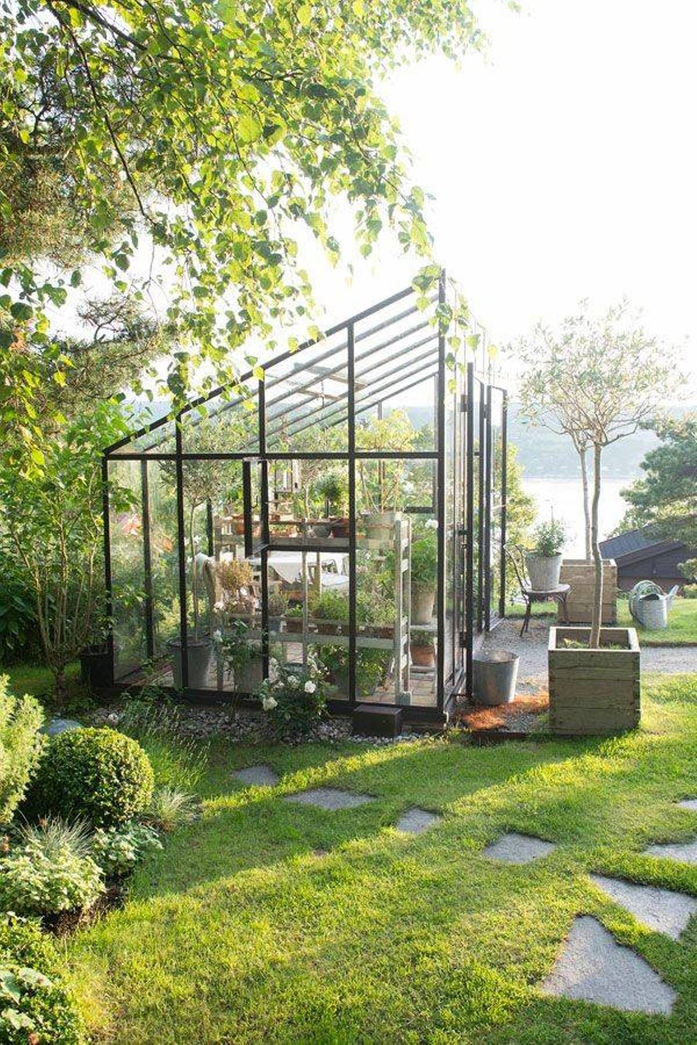 Moderne • Verrière • Jardin D'hiver • Veranda • | Serre ... concernant Verriere Jardin